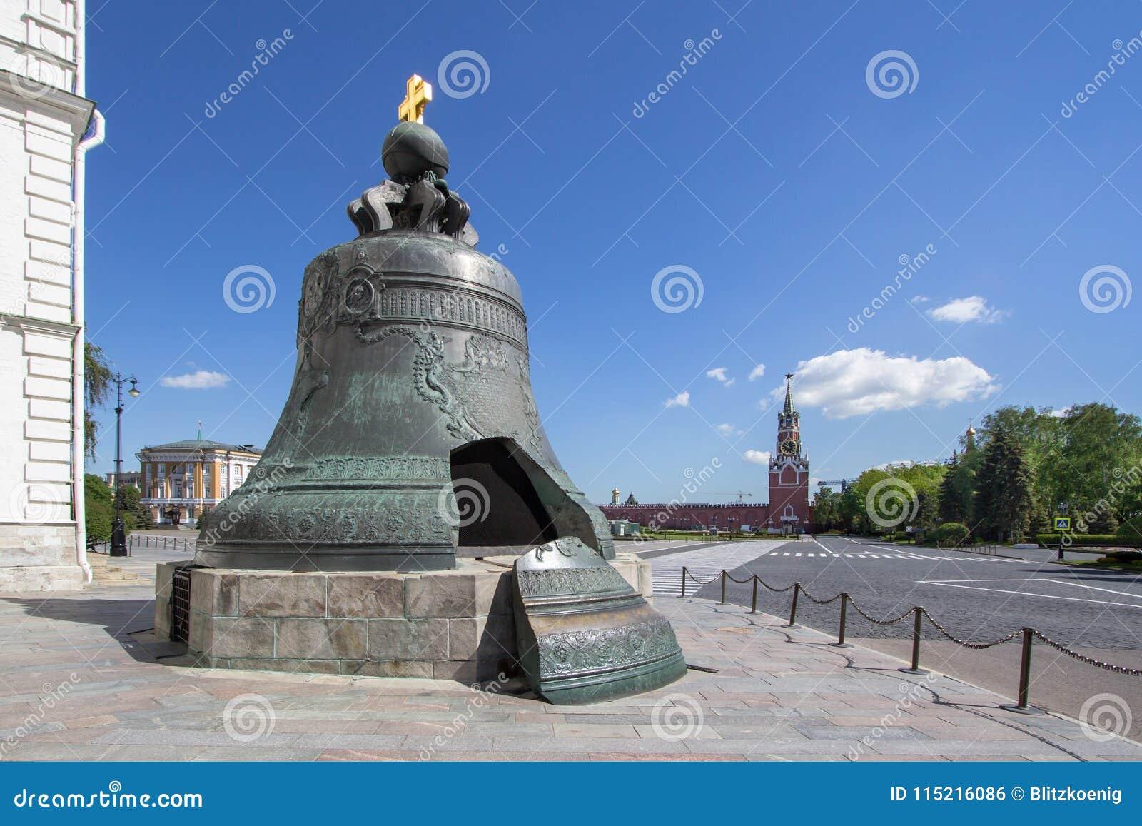 O czar Bell em Moscou, Rússia