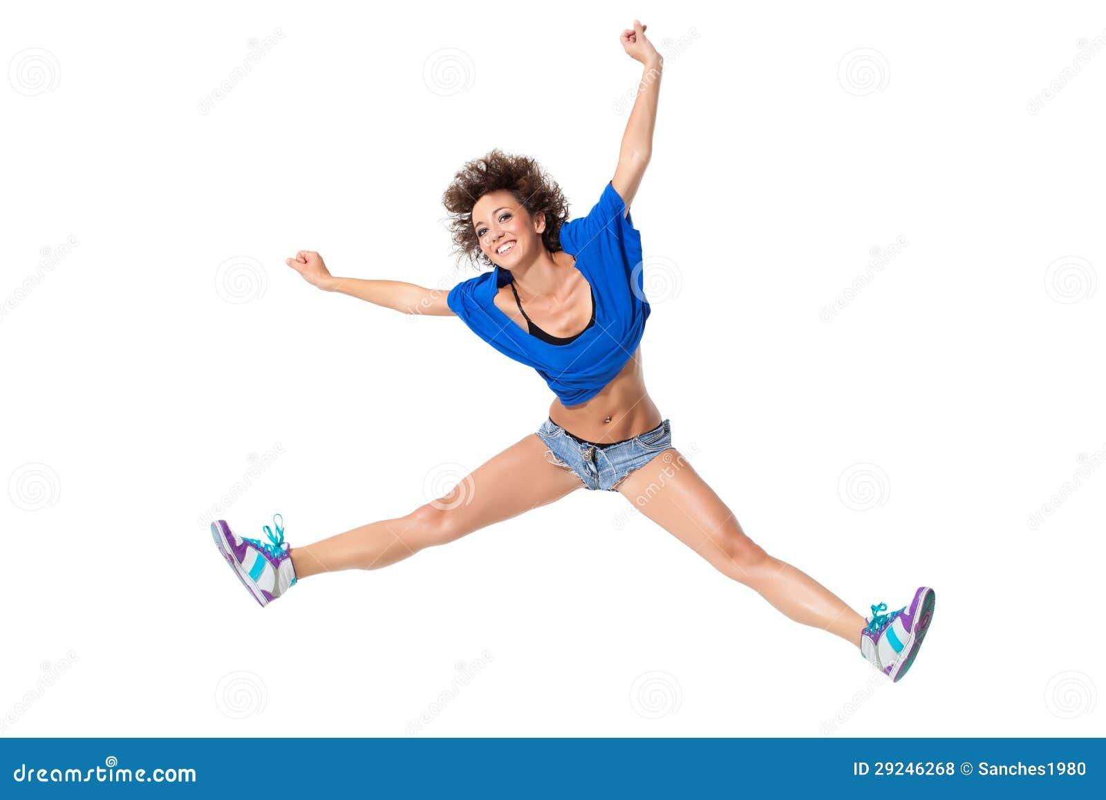 Download O dançarino foto de stock. Imagem de grace, elegance - 29246268