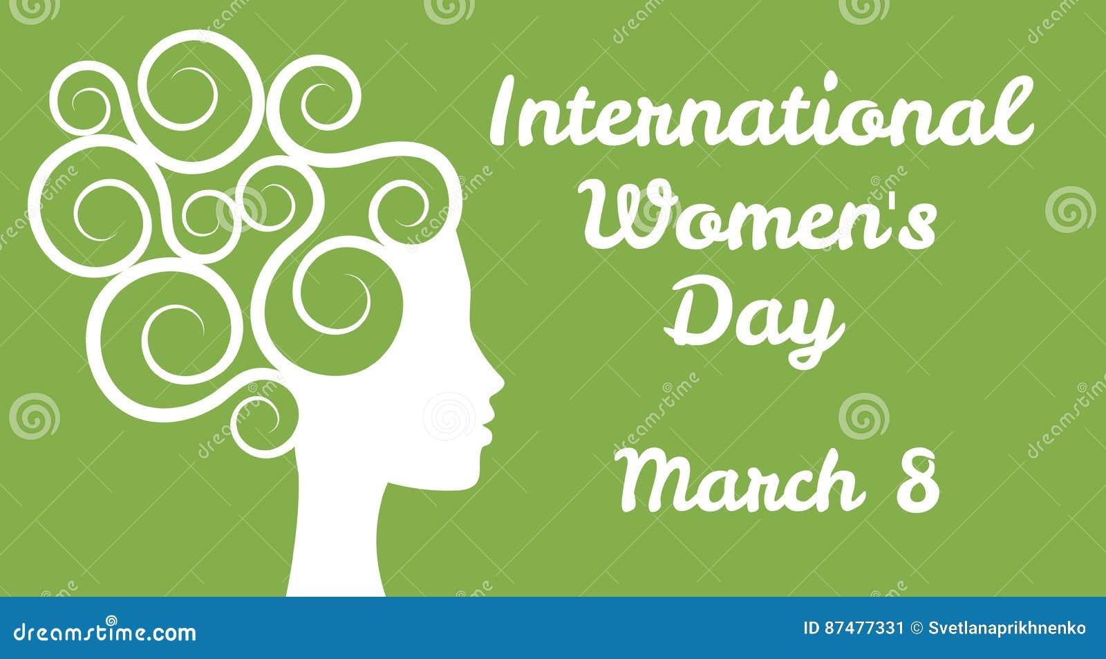 O dia das mulheres internacionais