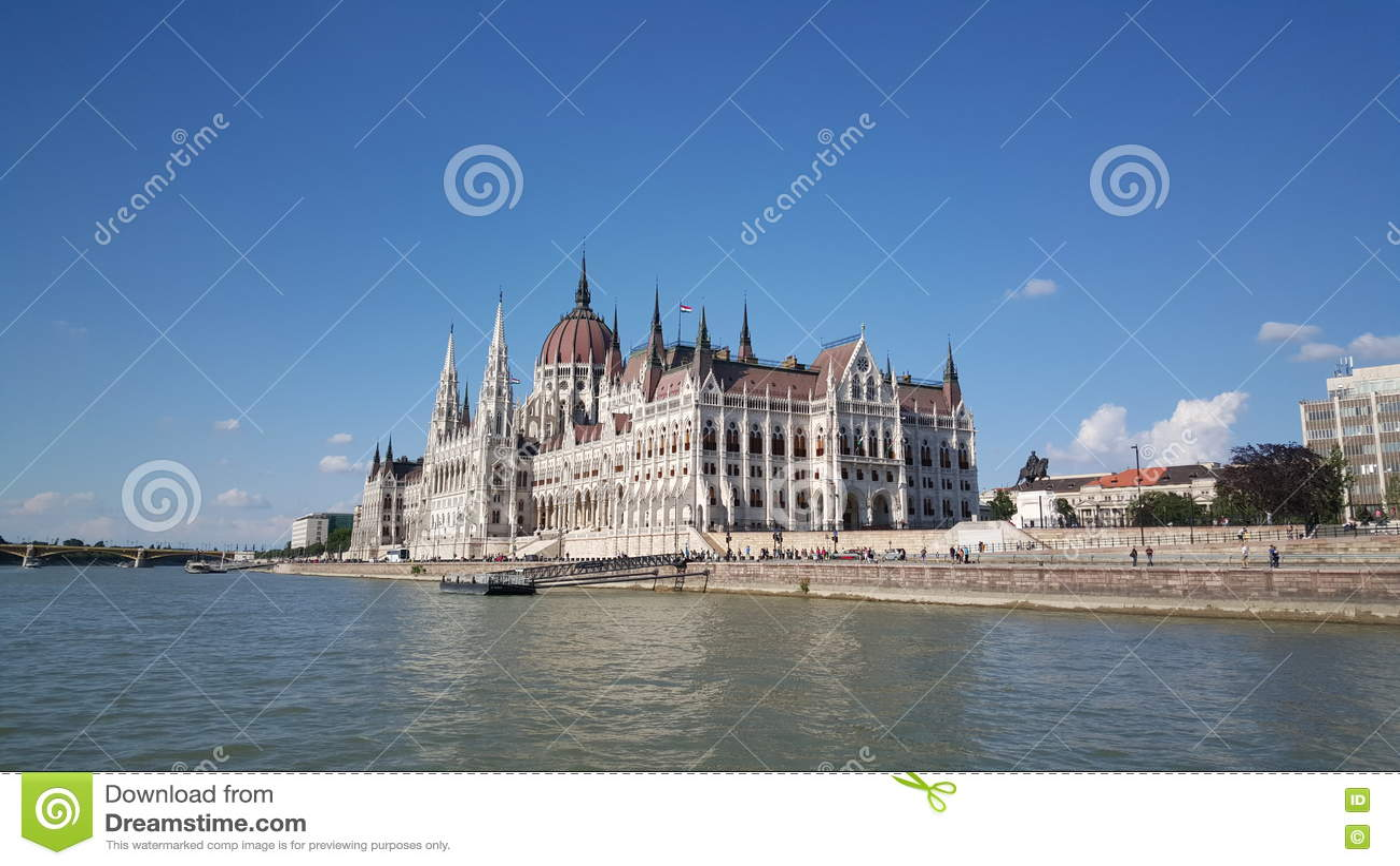 O edifício húngaro do parlamento
