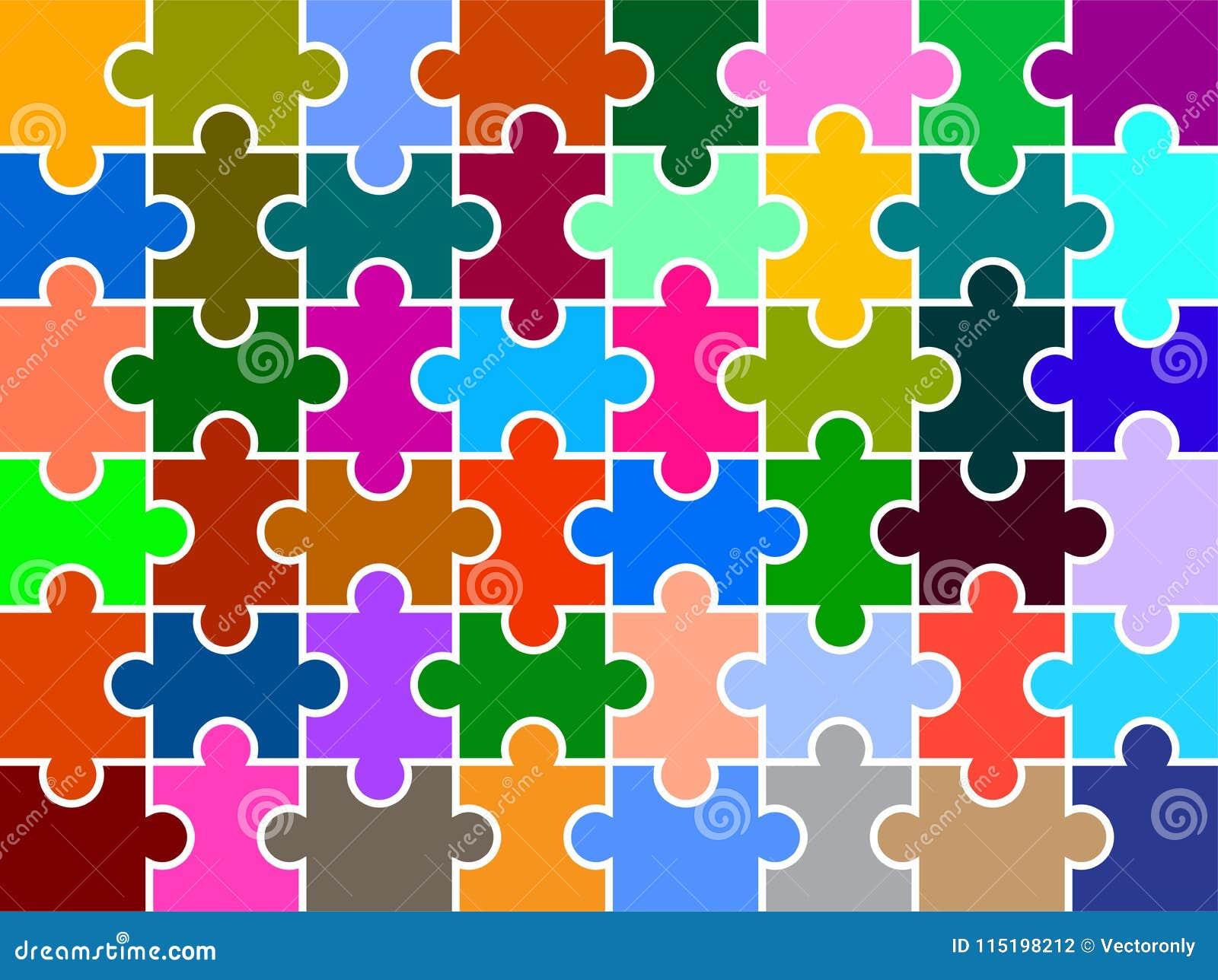 O enigma remenda o multi fundo colorido