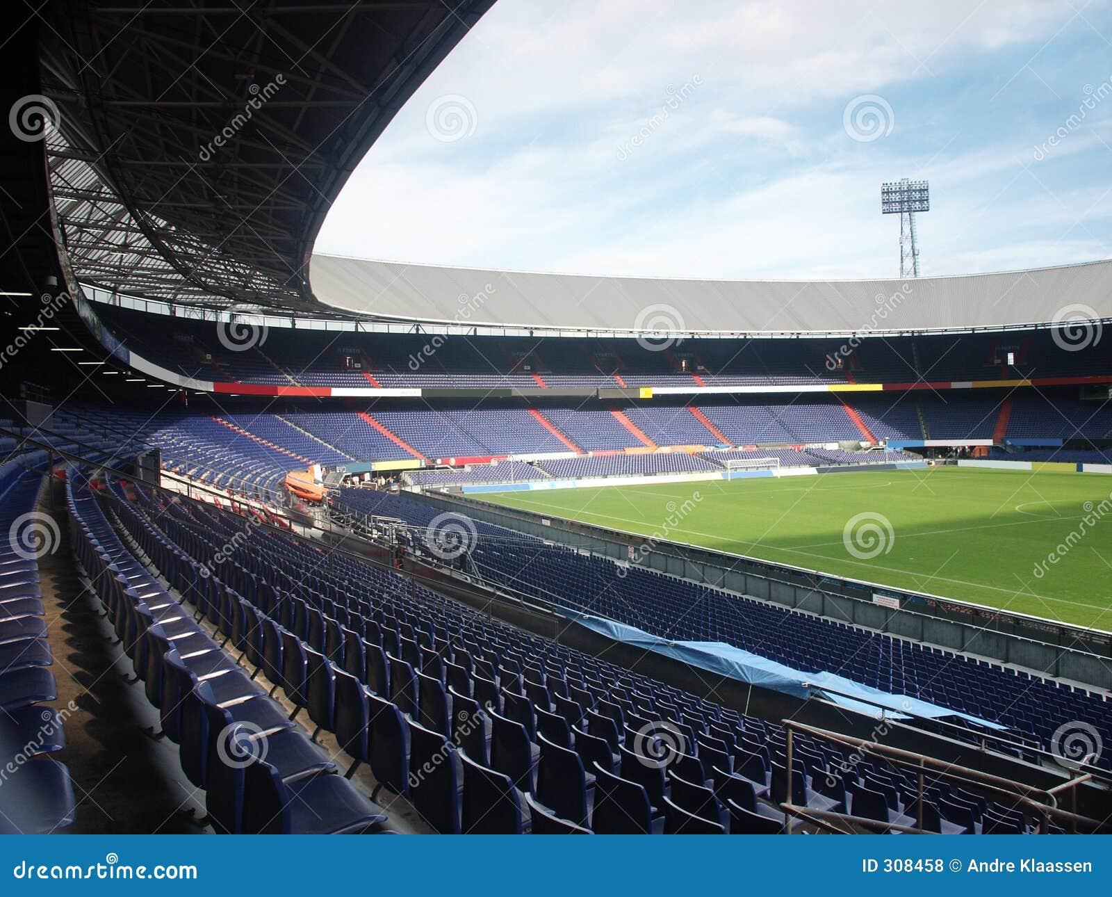 O estádio