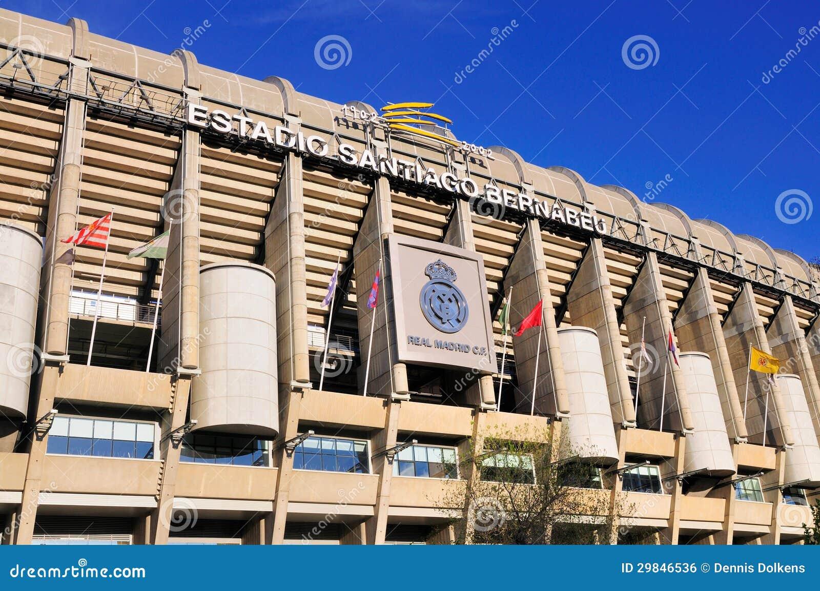 Estádio de Real Madrid, Spain