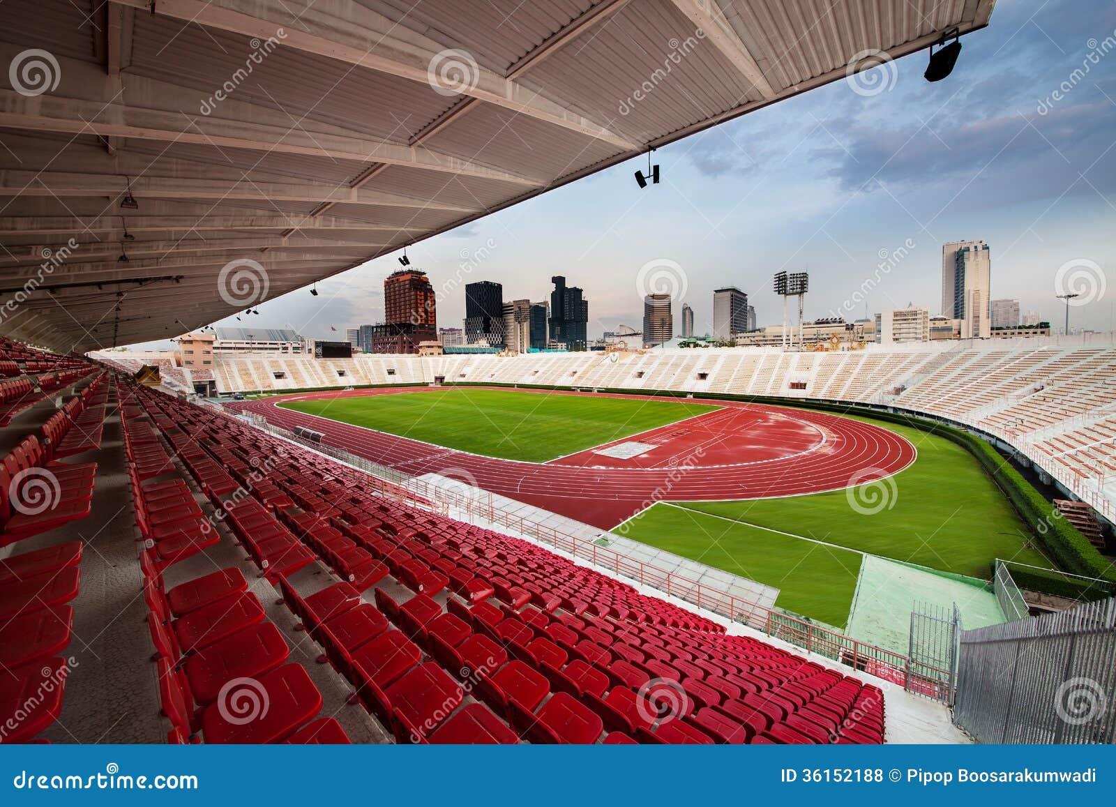O estádio nacional de Tailândia ou de estádio de Suphachalasai, Bangk