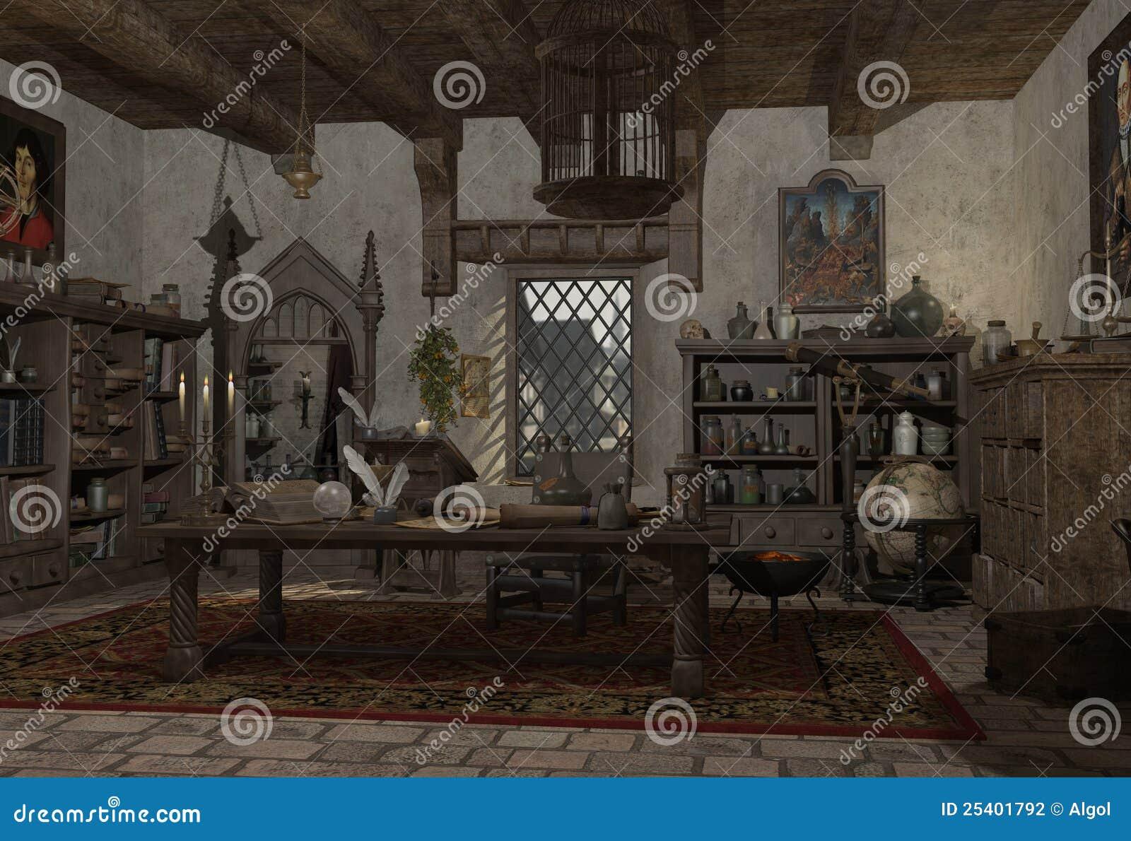 O estudo do alquimista