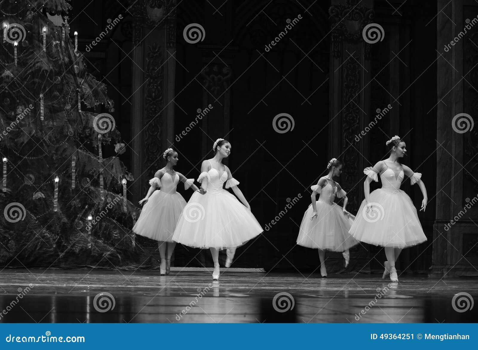 O fairy- do floco de neve - a quebra-nozes do bailado