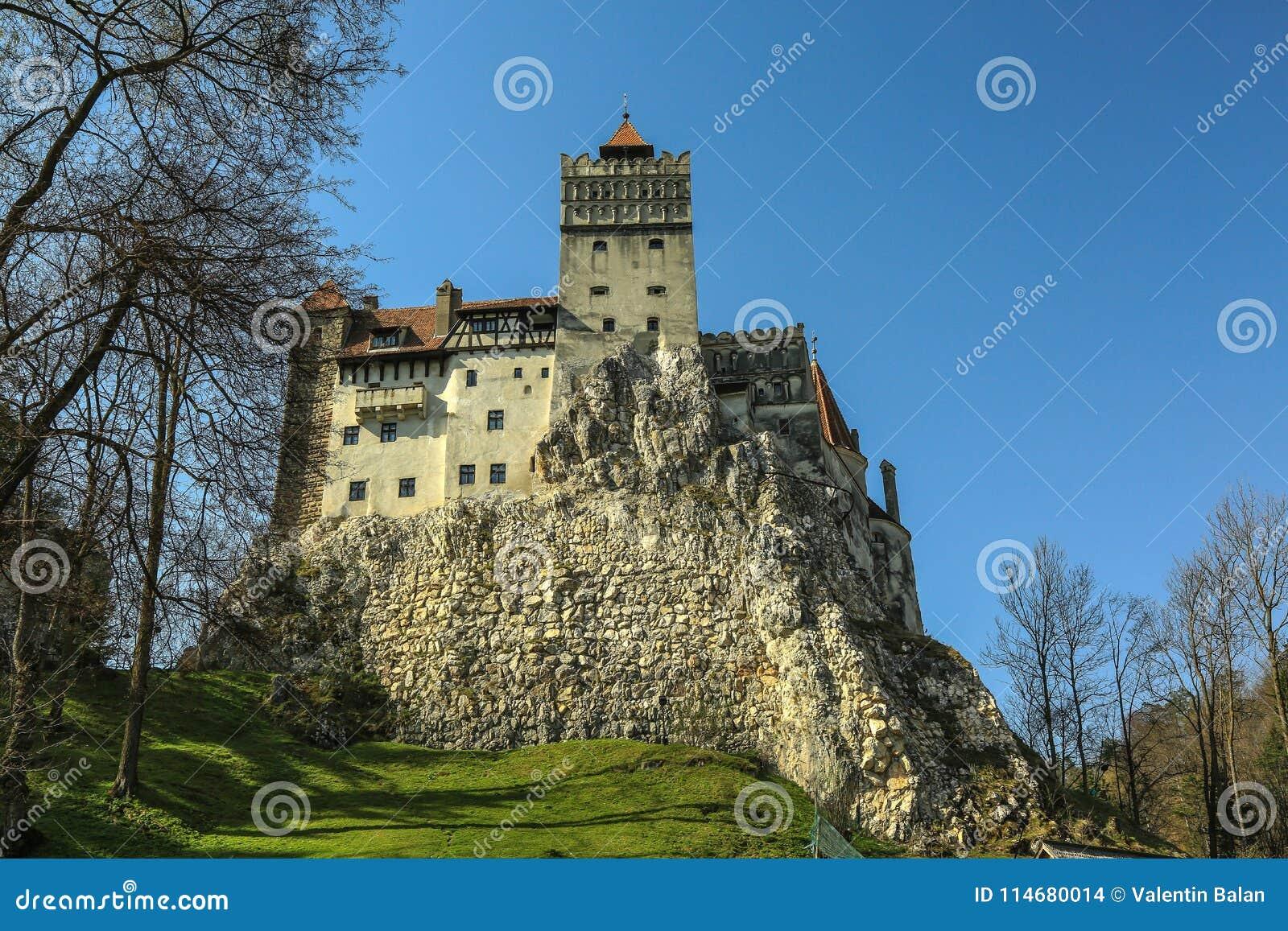 O farelo famoso do castelo de Dracula