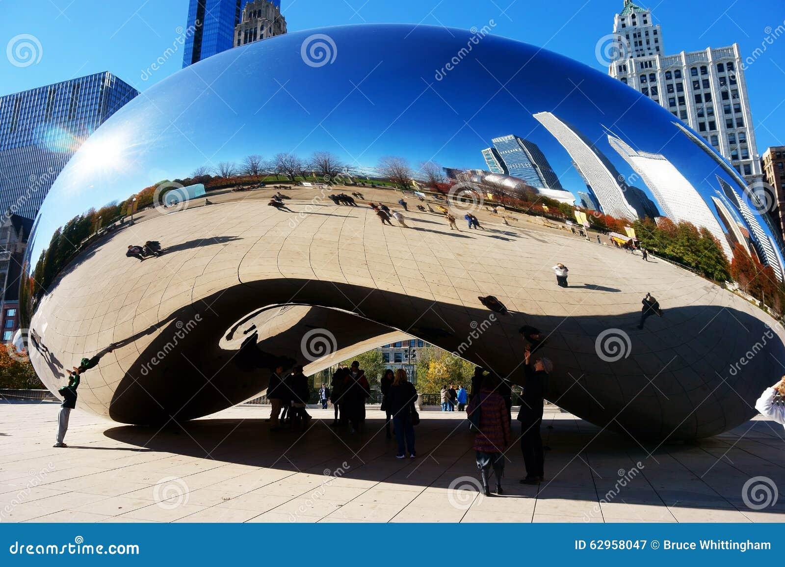 O feijão de Chicago, EUA