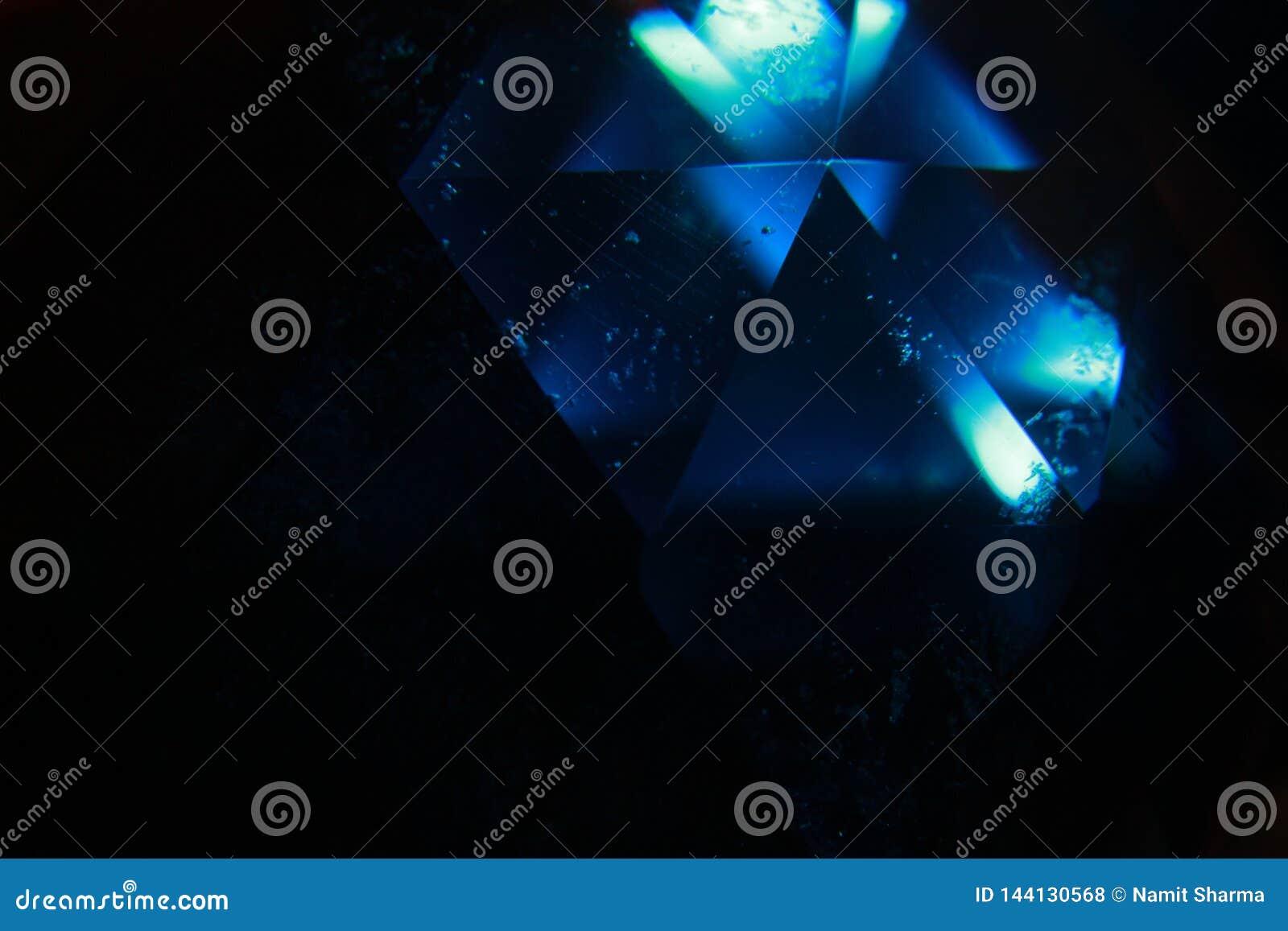O fulgor azul