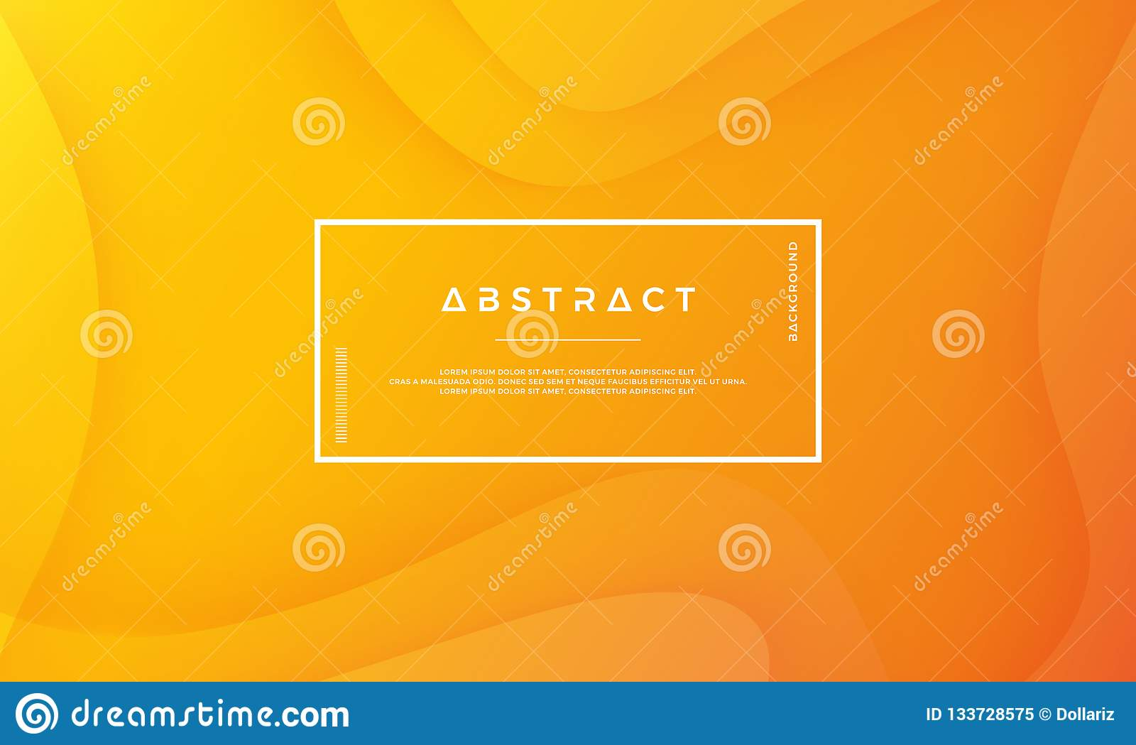 O fundo abstrato alaranjado é apropriado para a Web, o encabeçamento, a tampa, o folheto, a bandeira da Web e a outro