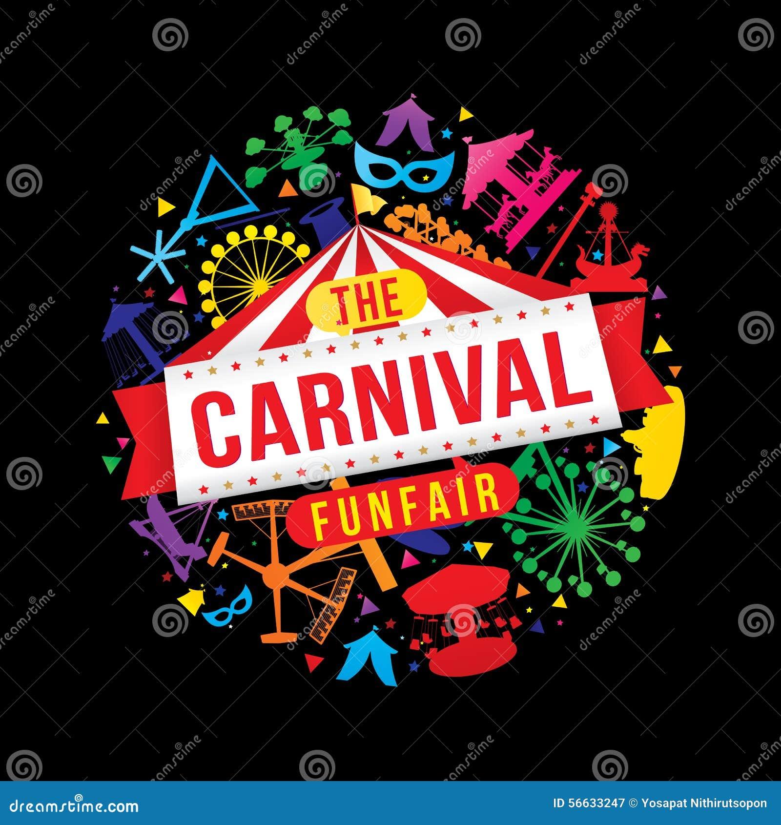 O funfair do carnaval