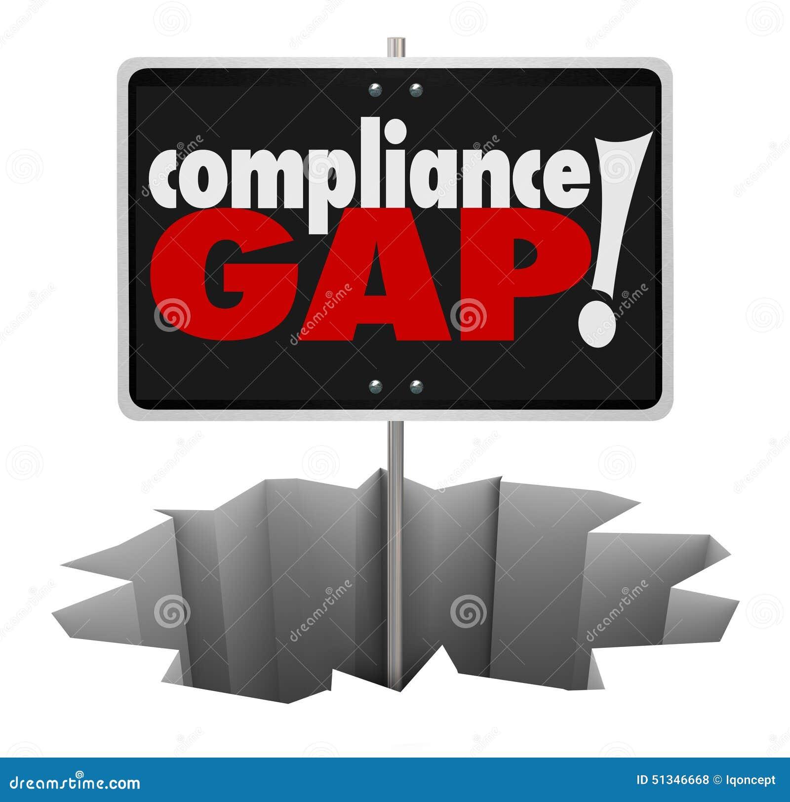 O furo do sinal de aviso de Gap da conformidade segue regulamentos Guidel das regras
