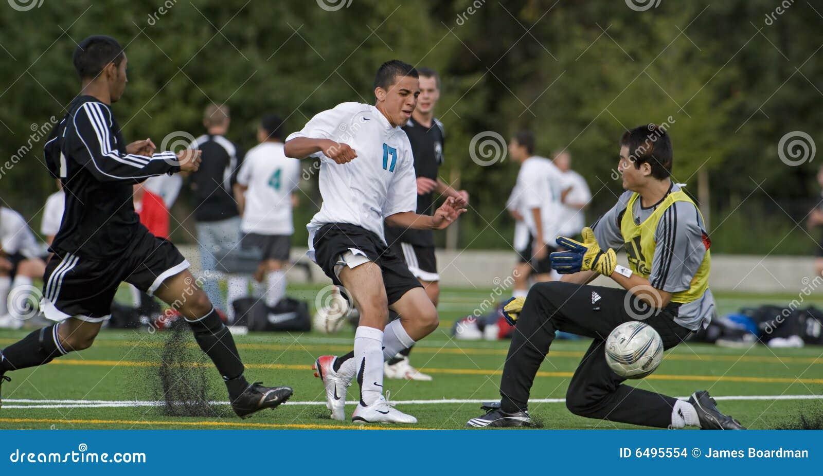 O futebol um começ perto