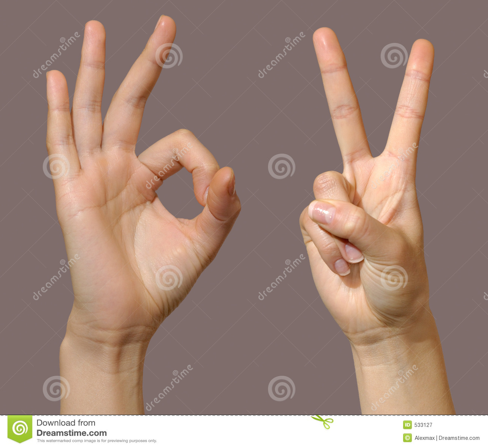 O gesto ajustou 2