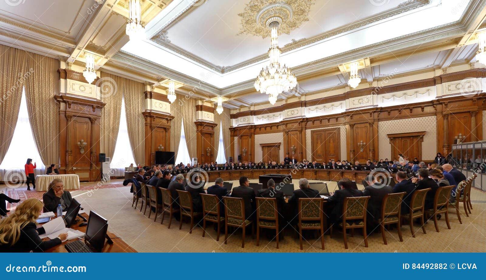 O governo romeno conduziu por Sorin Grindeanu - Romanian Parliamen