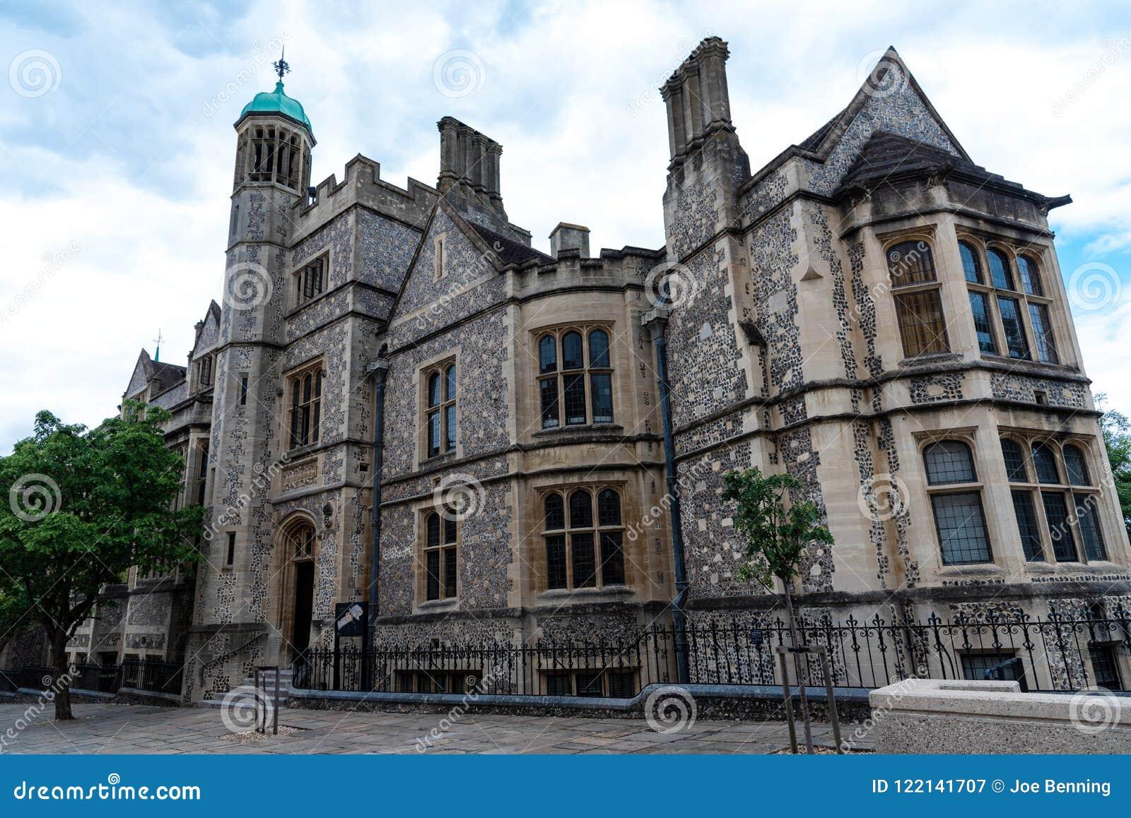 O grande salão do castelo de Winchester