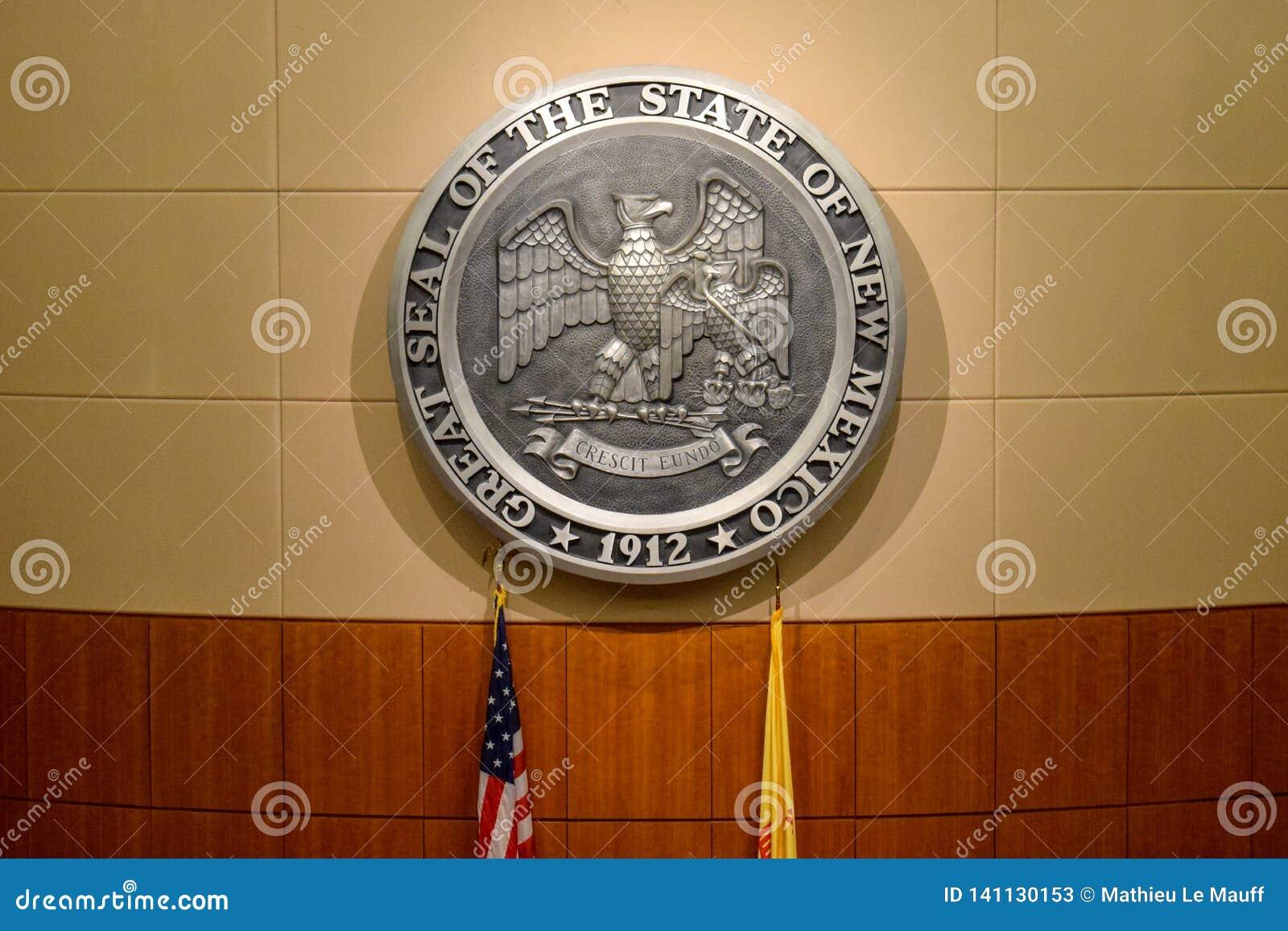 O grande selo do estado de New mexico
