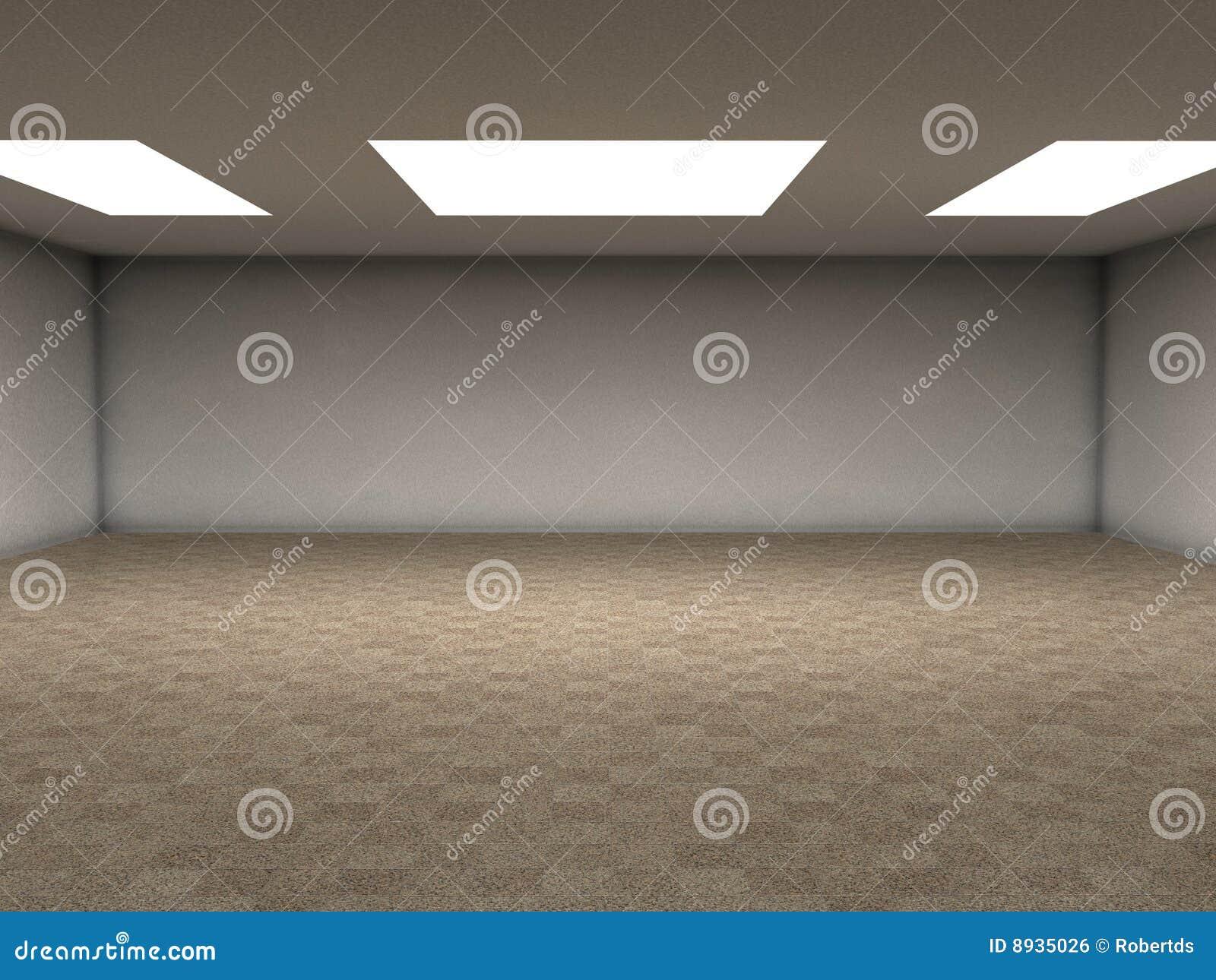 O granito telha o quarto