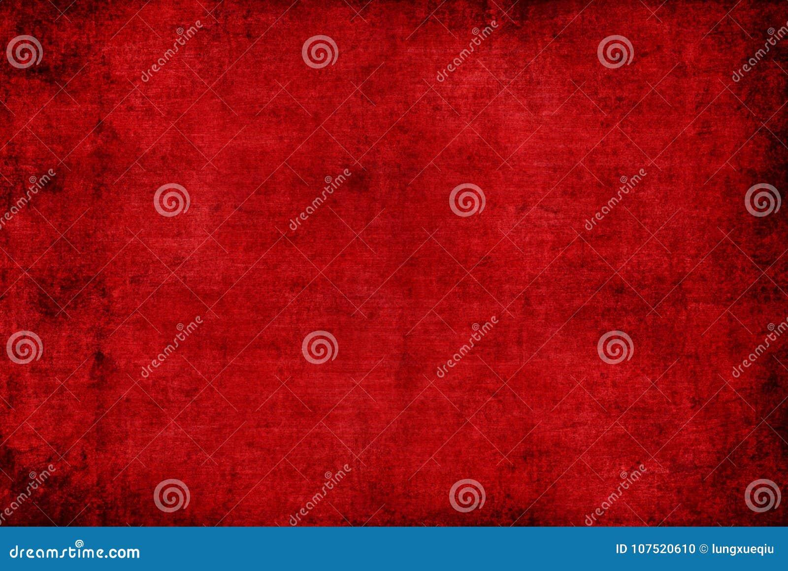 O Grunge distorceu a obscuridade - papel de parede abstrato velho vermelho do fundo do teste padrão da textura