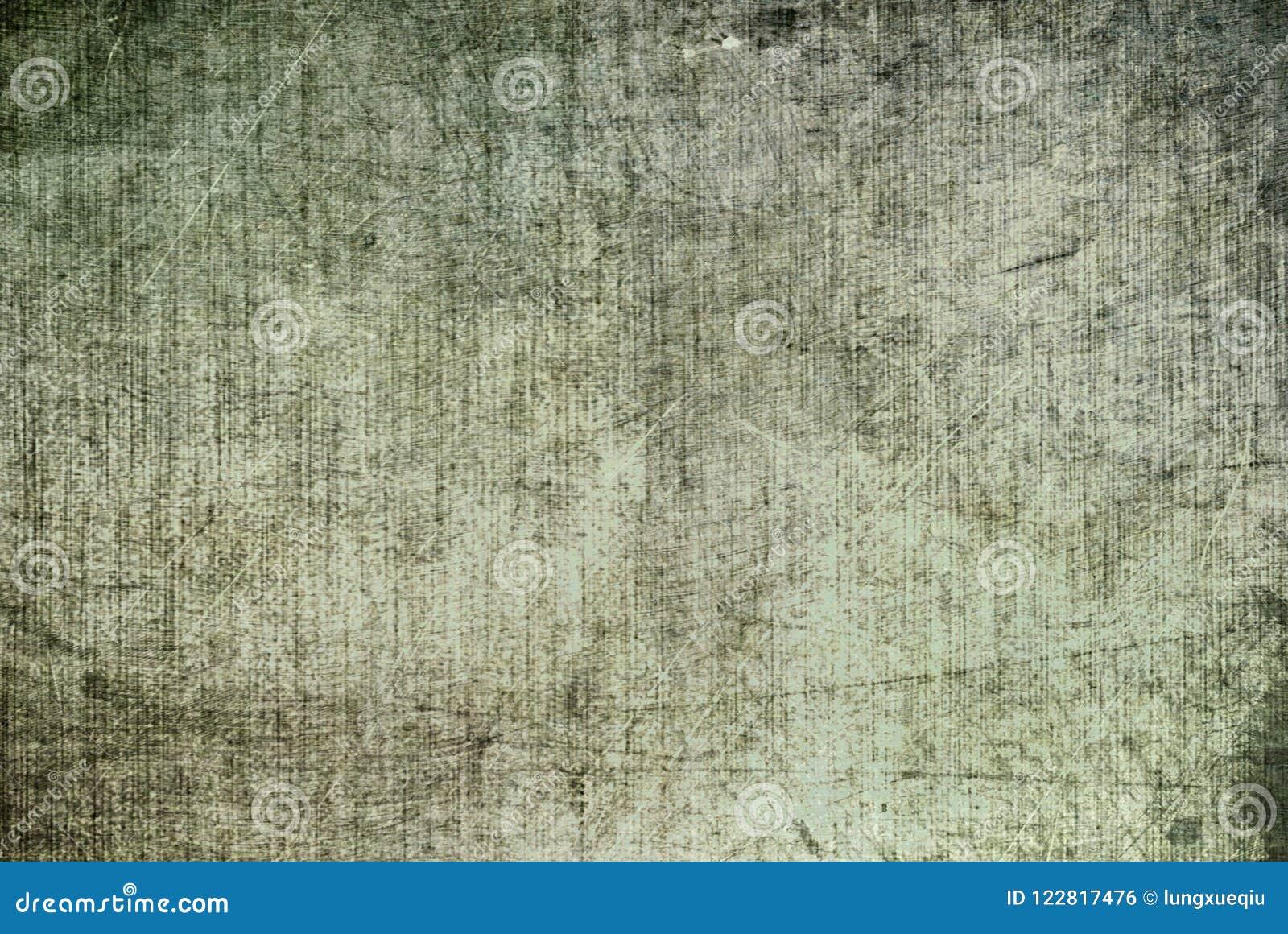 O Grunge Grey Black White Rusty Distorted escuro deteriora o teste padrão de pintura da textura da lona velha do sumário para Aut