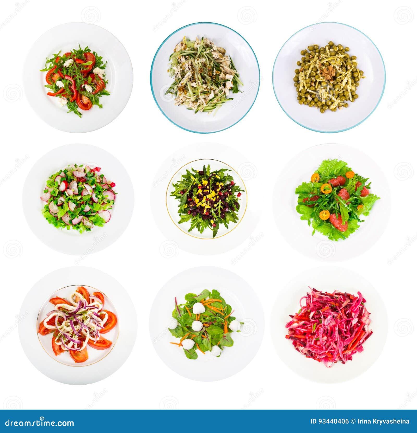 O grupo da aptidão de salada dietética para um estilo de vida saudável isolou o