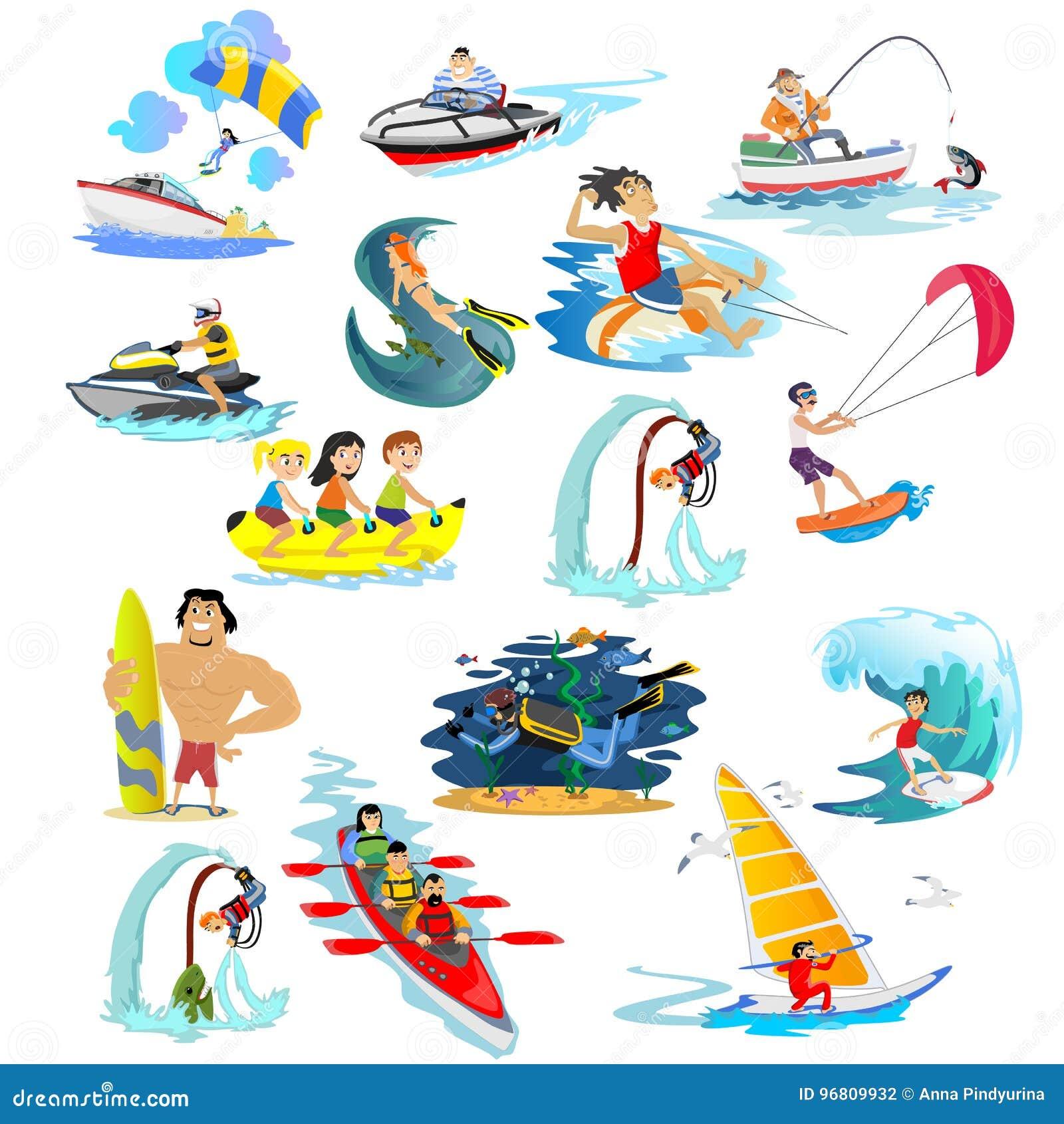 555d21bce O Grupo De Extremo Da água Ostenta Os ícones