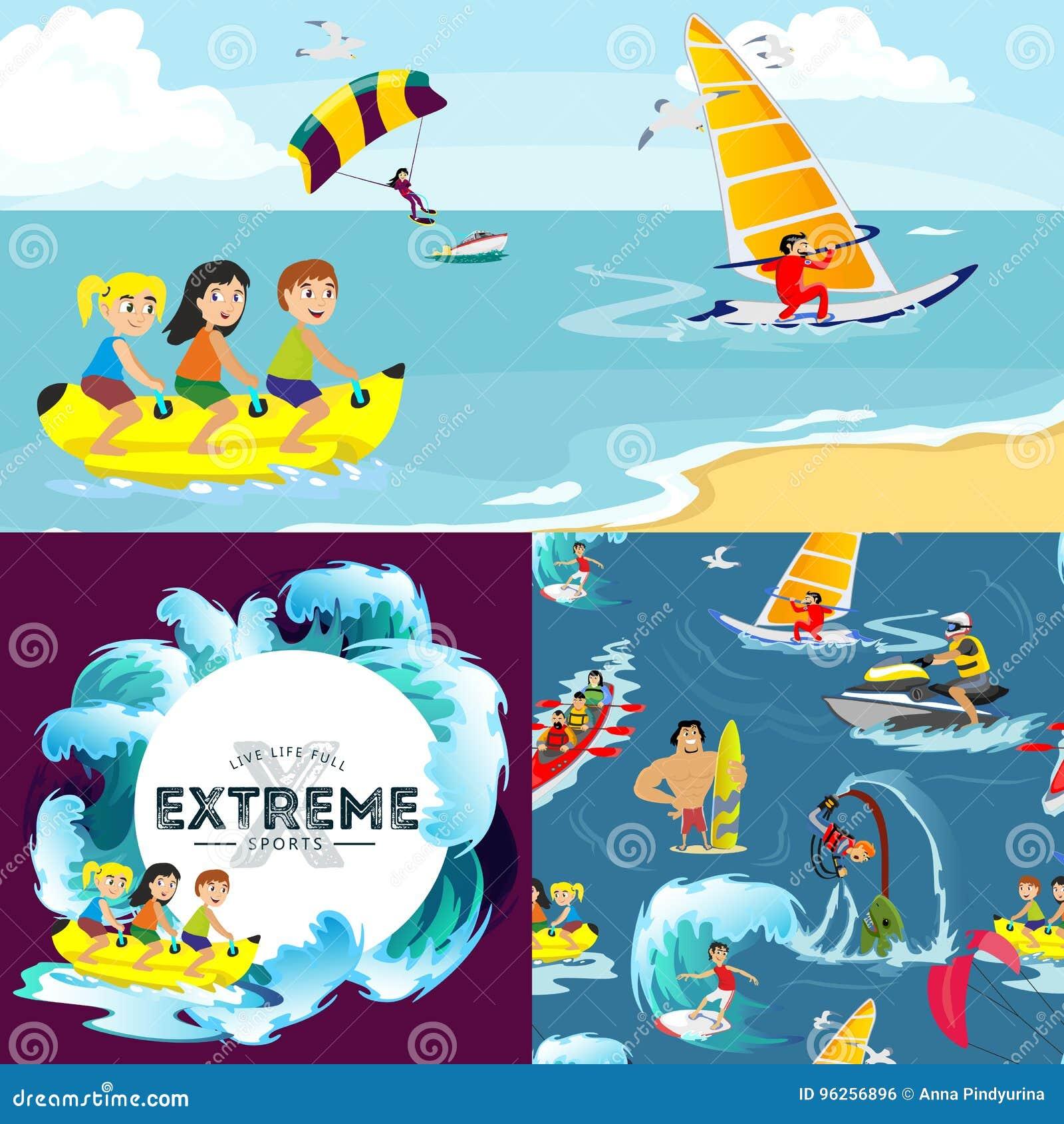 8a233cfa8 O Grupo De Extremo Da água Ostenta Os Fundos