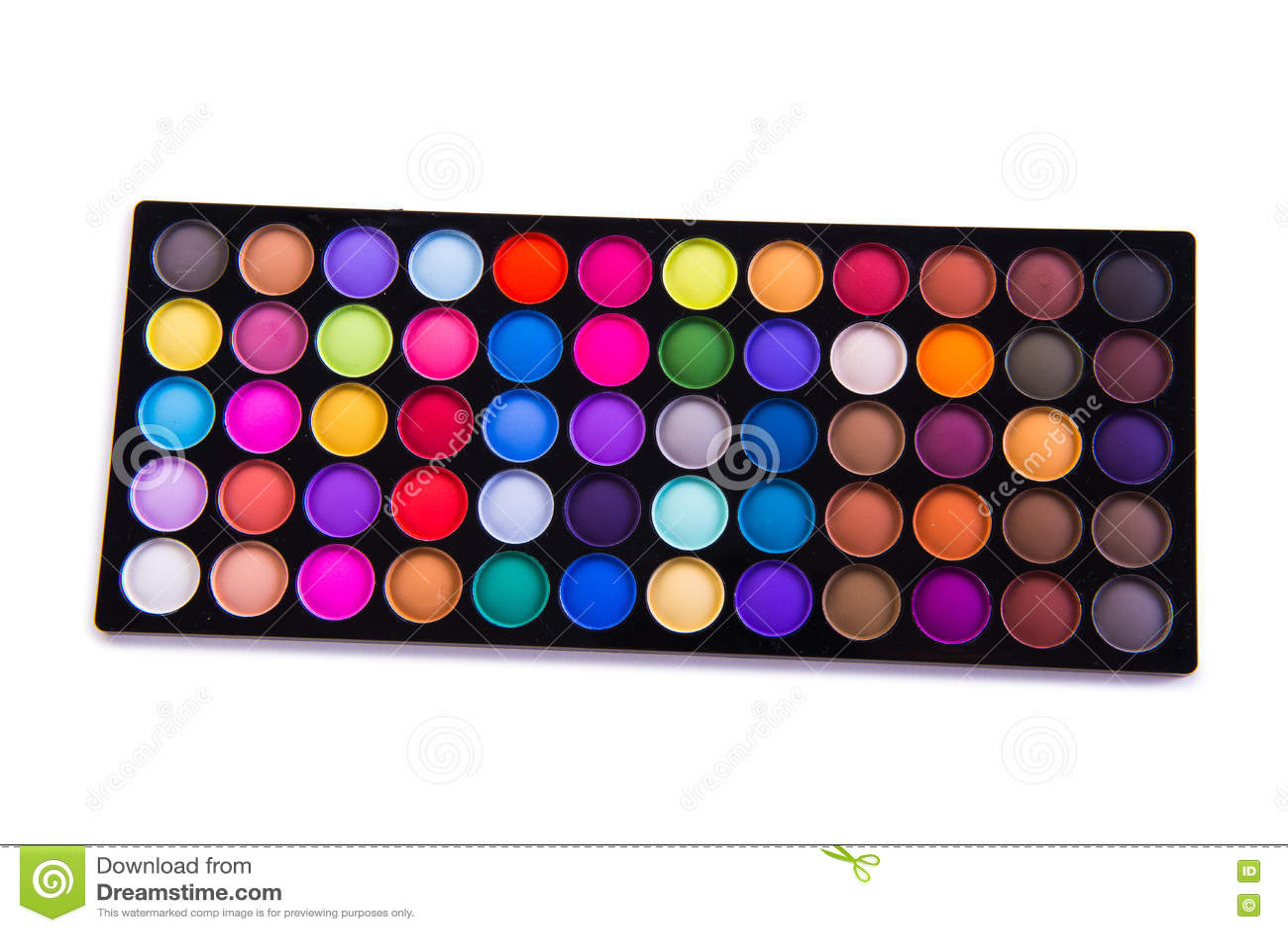 O grupo de sombra colorida para a composição isolada no branco