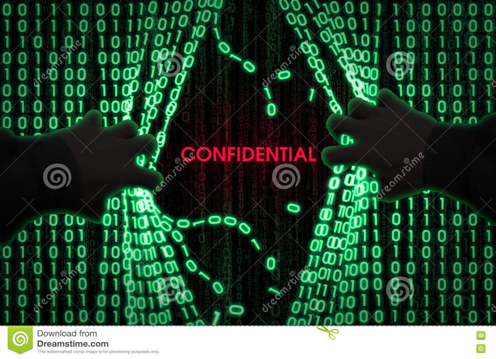 O hacker entra no computador