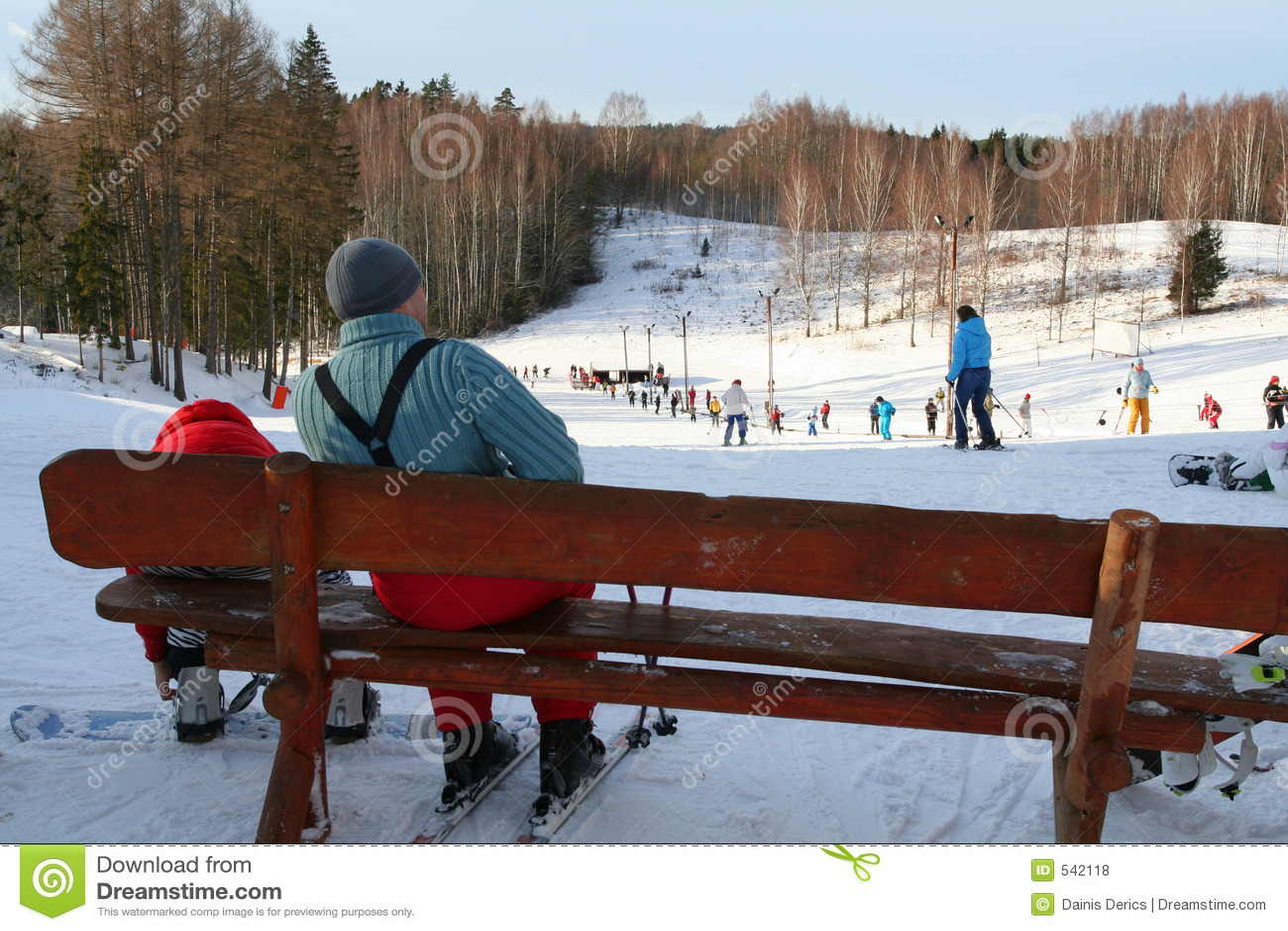 O inverno relaxa