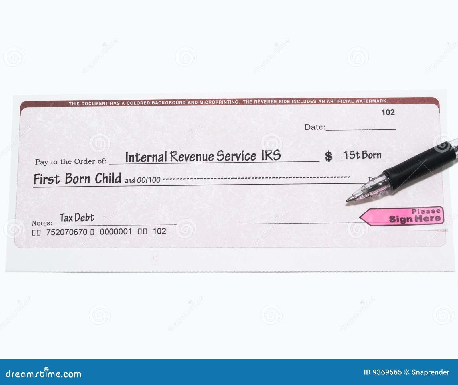 O IRS verific para ver se há a primeira criança nascida