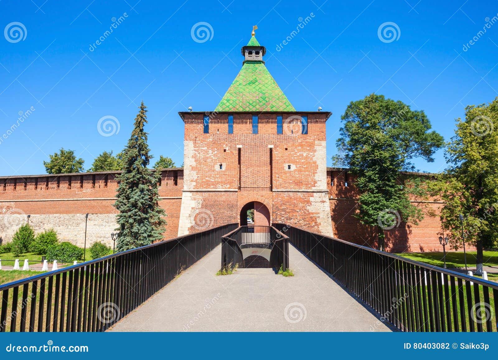 O Kremlin de Nizhny Novgorod