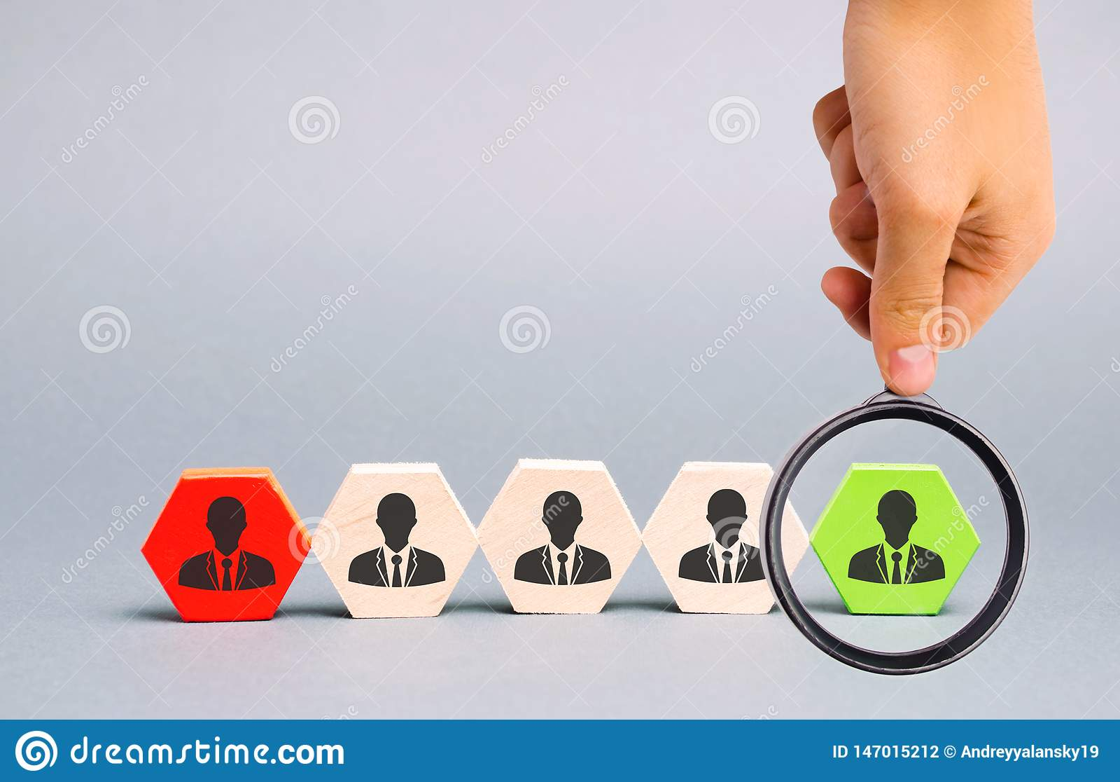 O líder escolhe a pessoa na equipe Trabalhador talentoso Recursos humanos Gest?o de pessoal do funcionamento A destituição do
