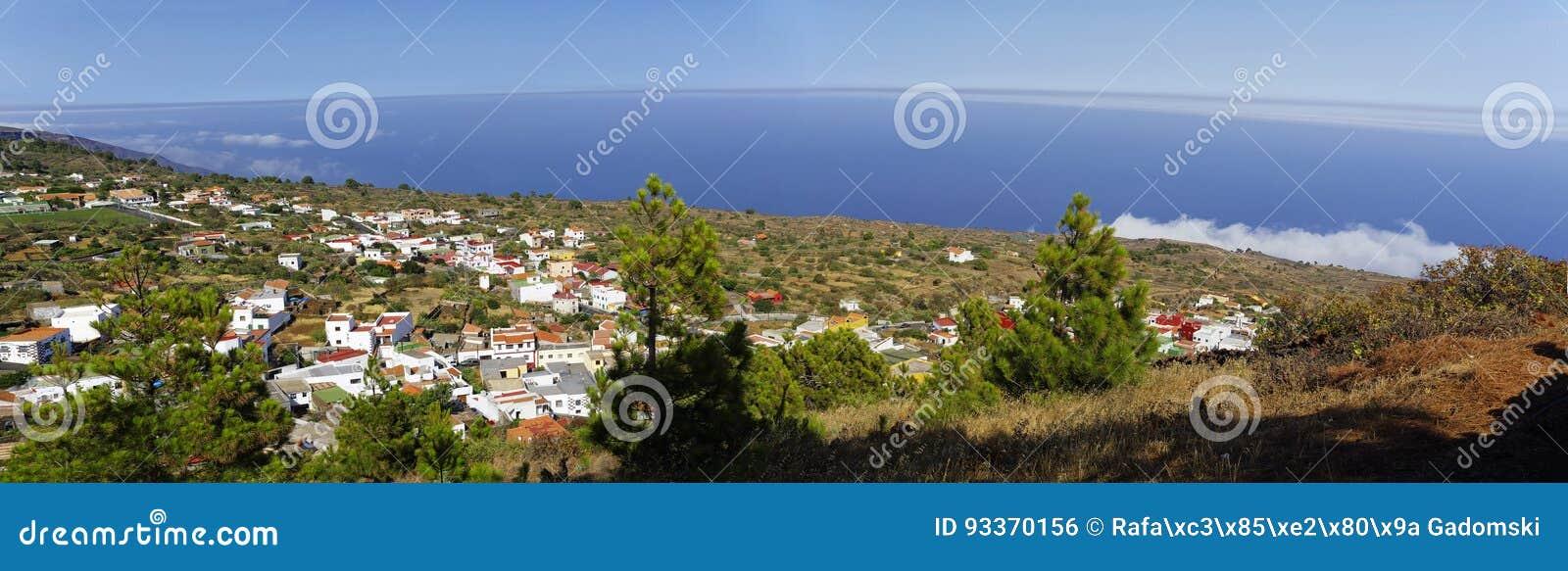 O litoral perto de Tacoron EL Hierro