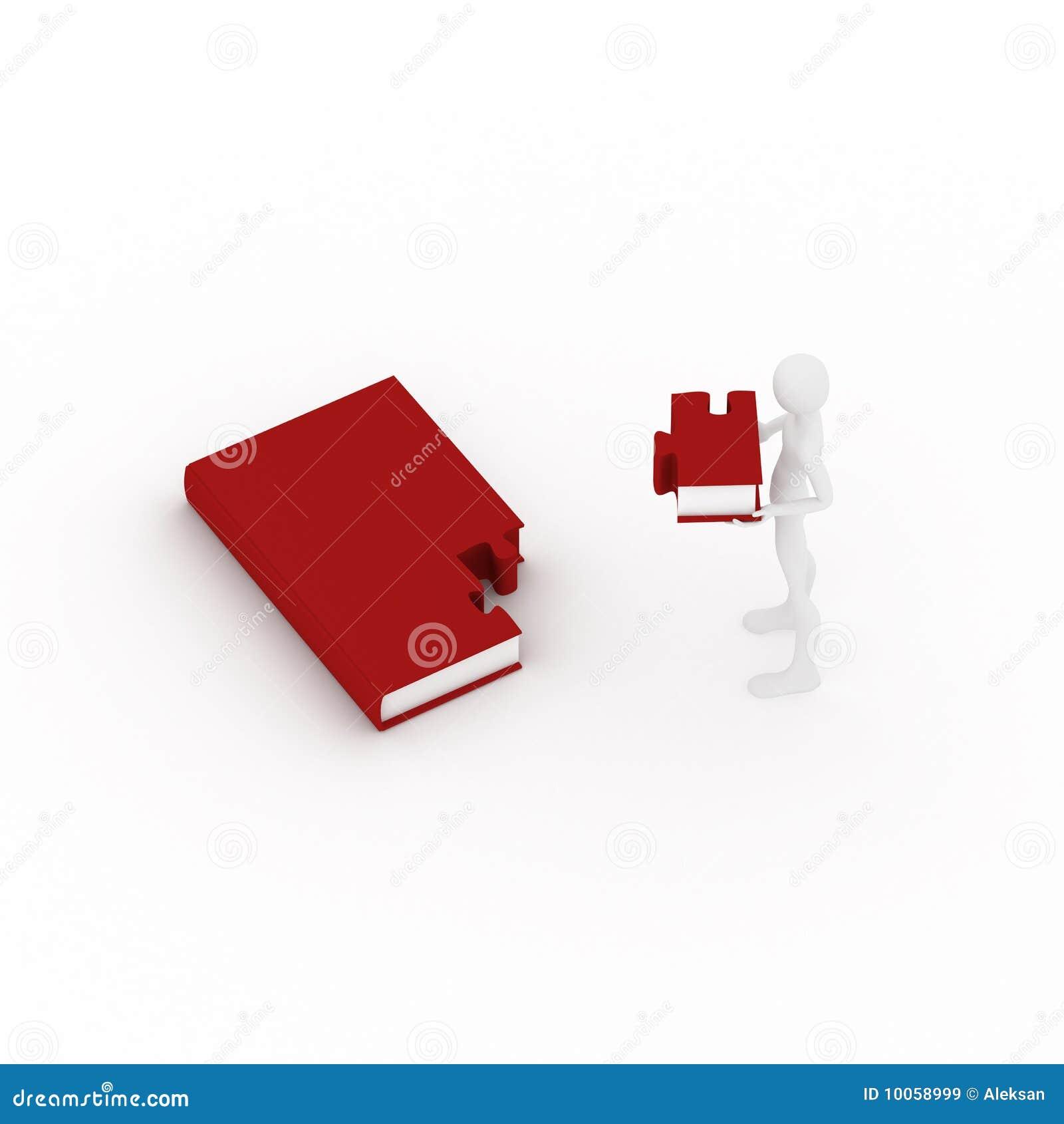 O livro gosta do enigma