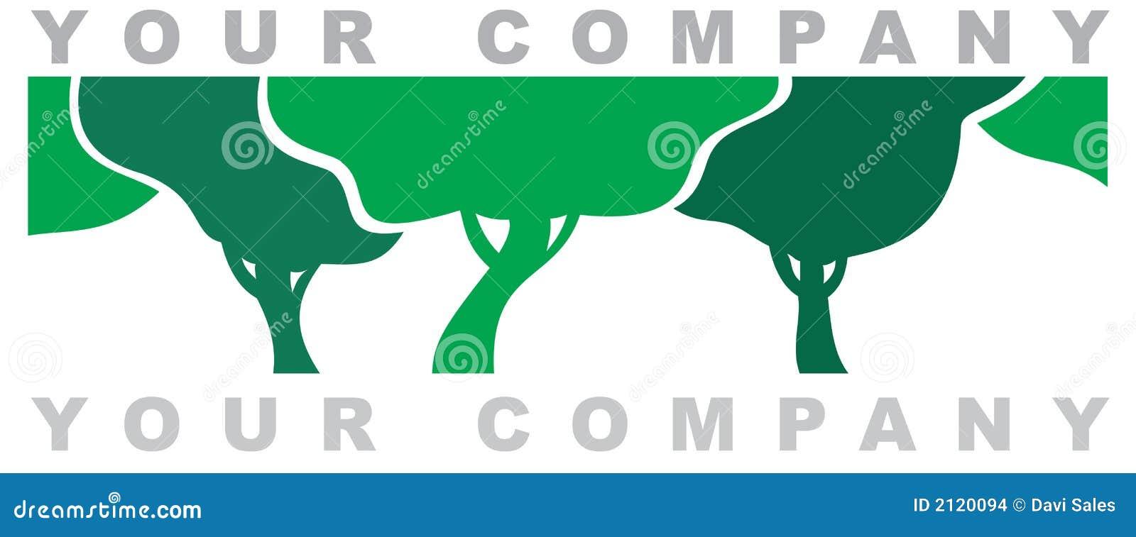 O logotipo da floresta