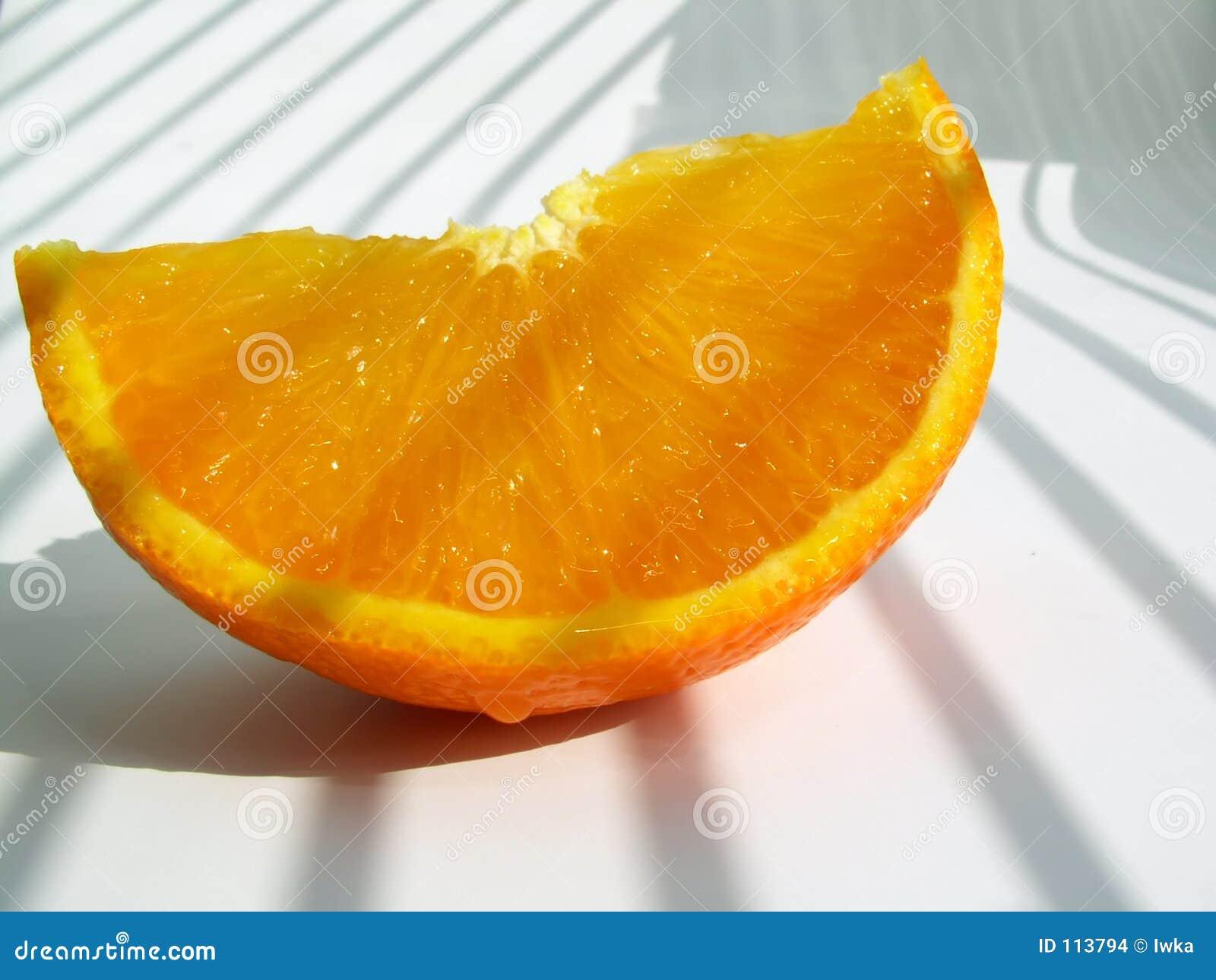 O mandarino - fatia