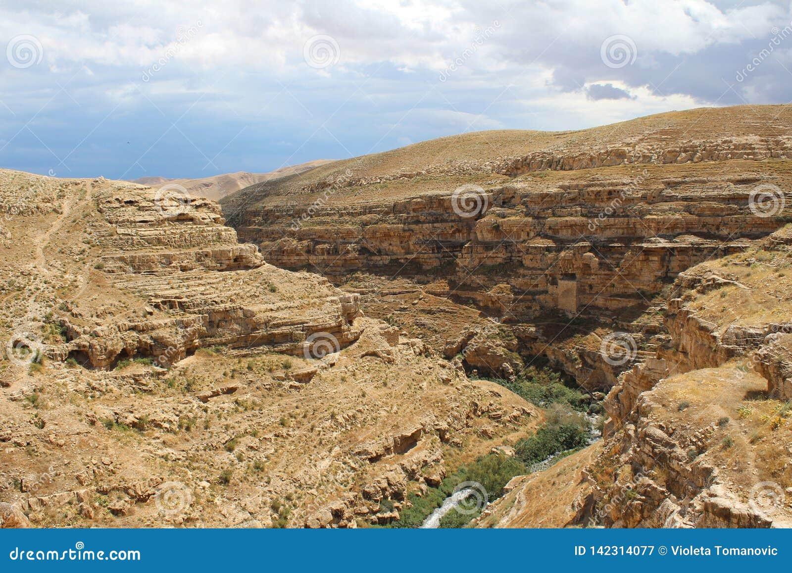 O março Saba Monastery, Laura de nosso pai santamente Sabbas