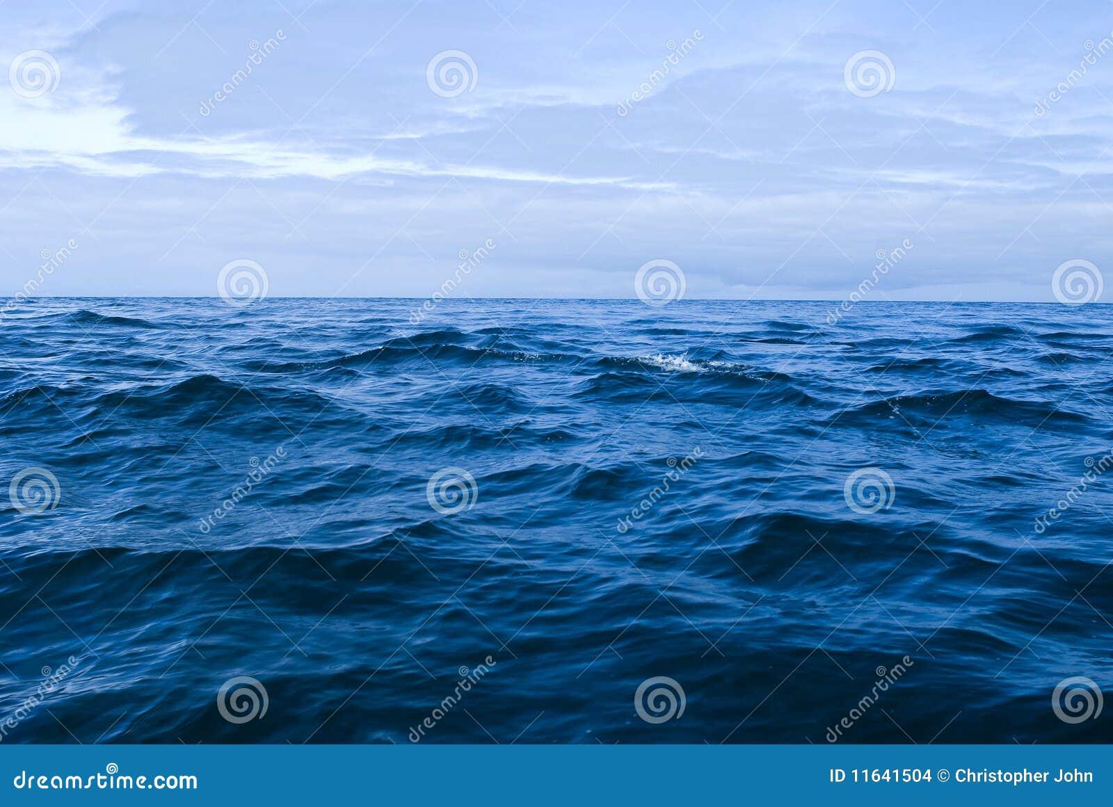 O mar aberto