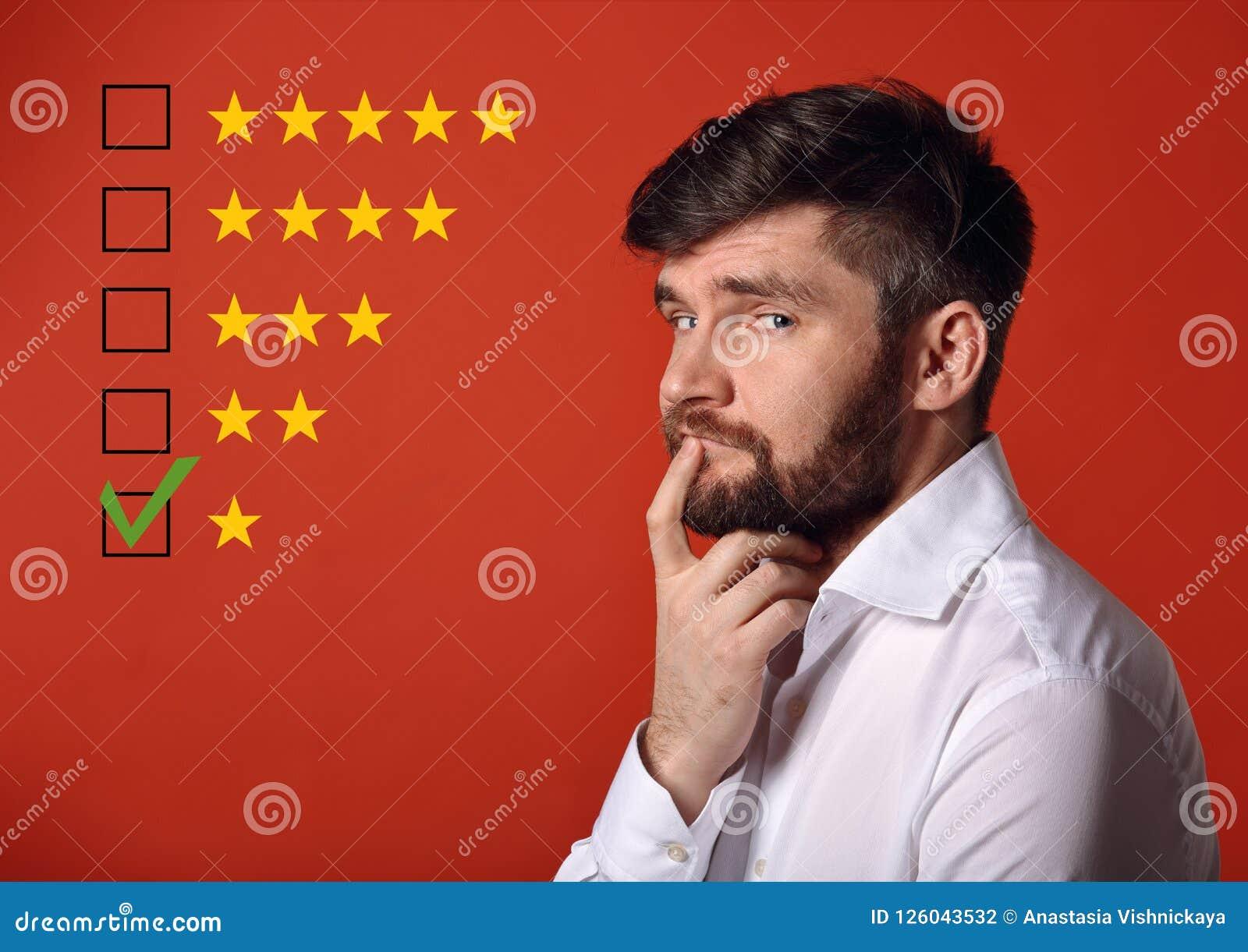 O mau, a avaliação a mais má da falha, avaliação, revisão em linha Um st