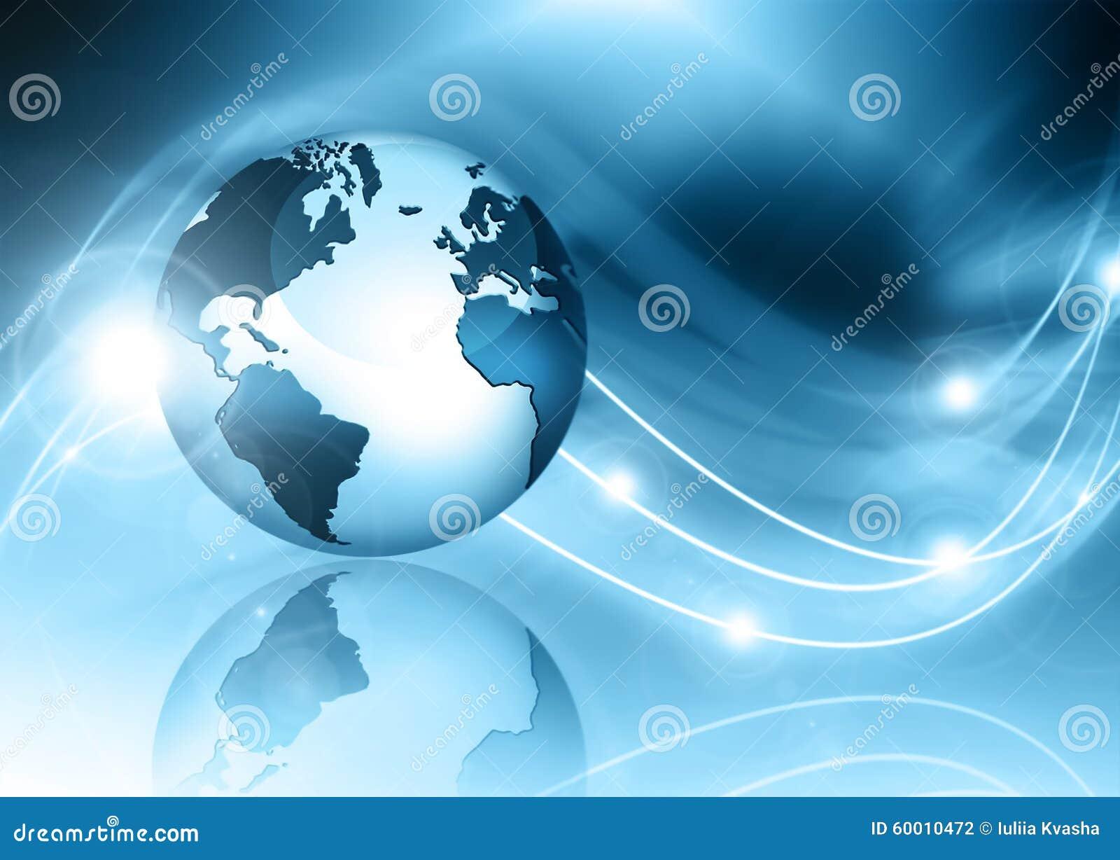 O melhor conceito do Internet do negócio global Globo