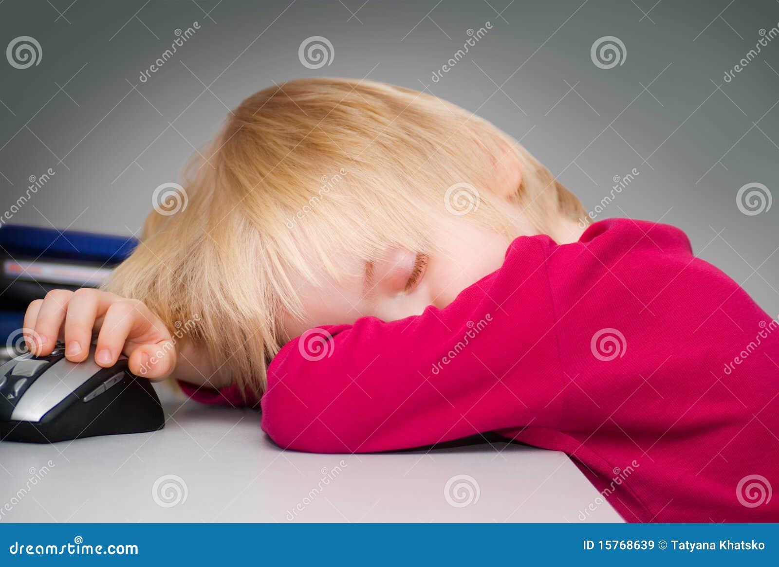 O menino de sono