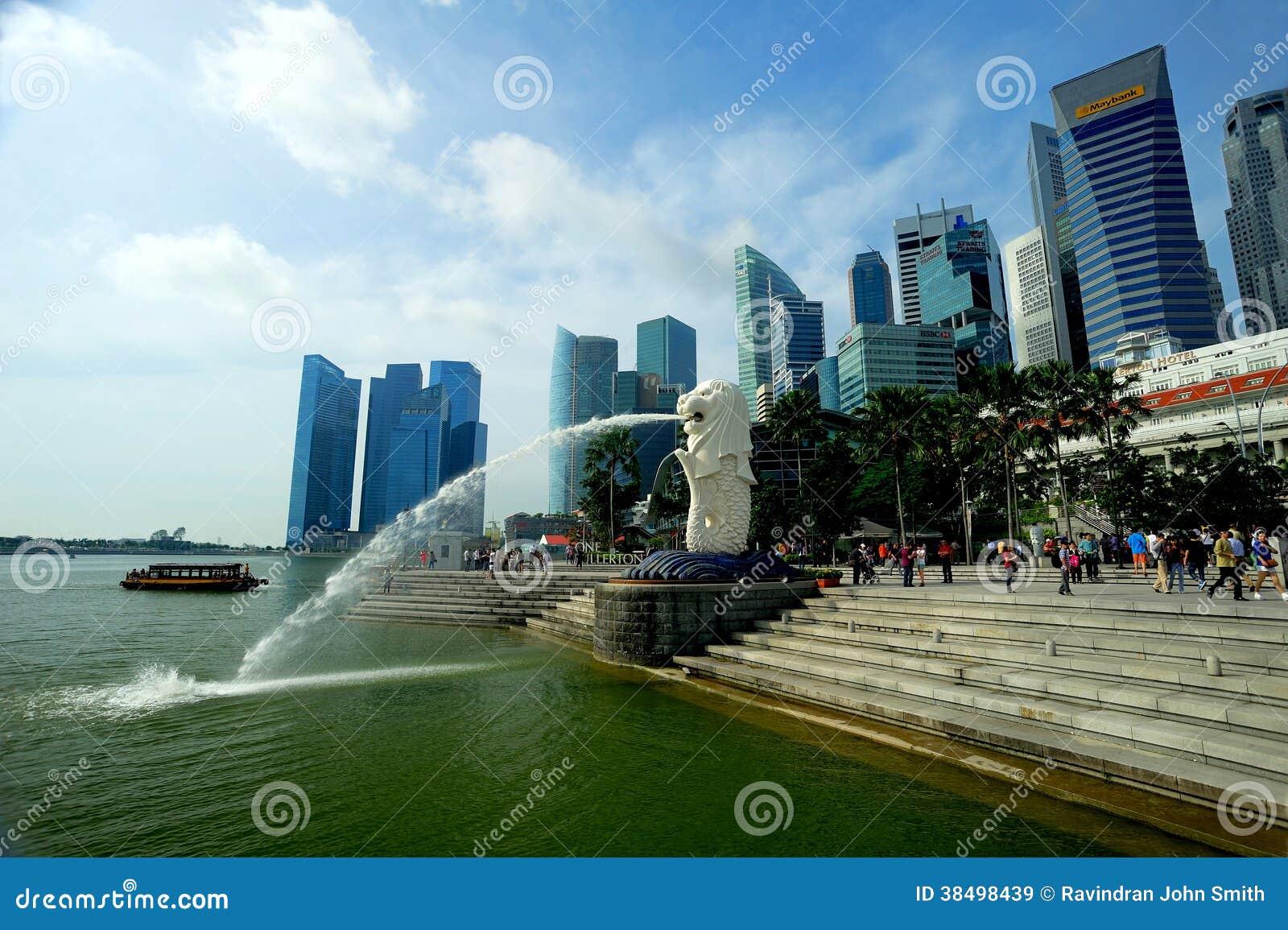O Merlion, Singapura.