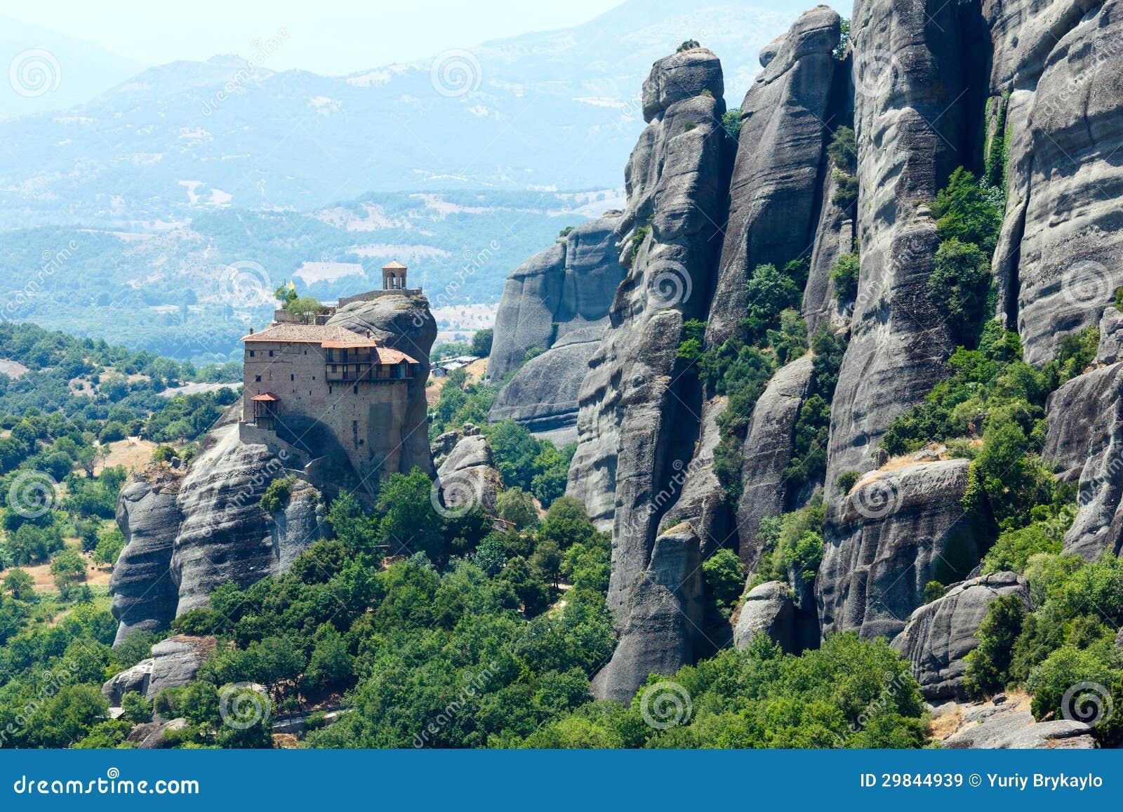 Monastérios rochosos de Meteora