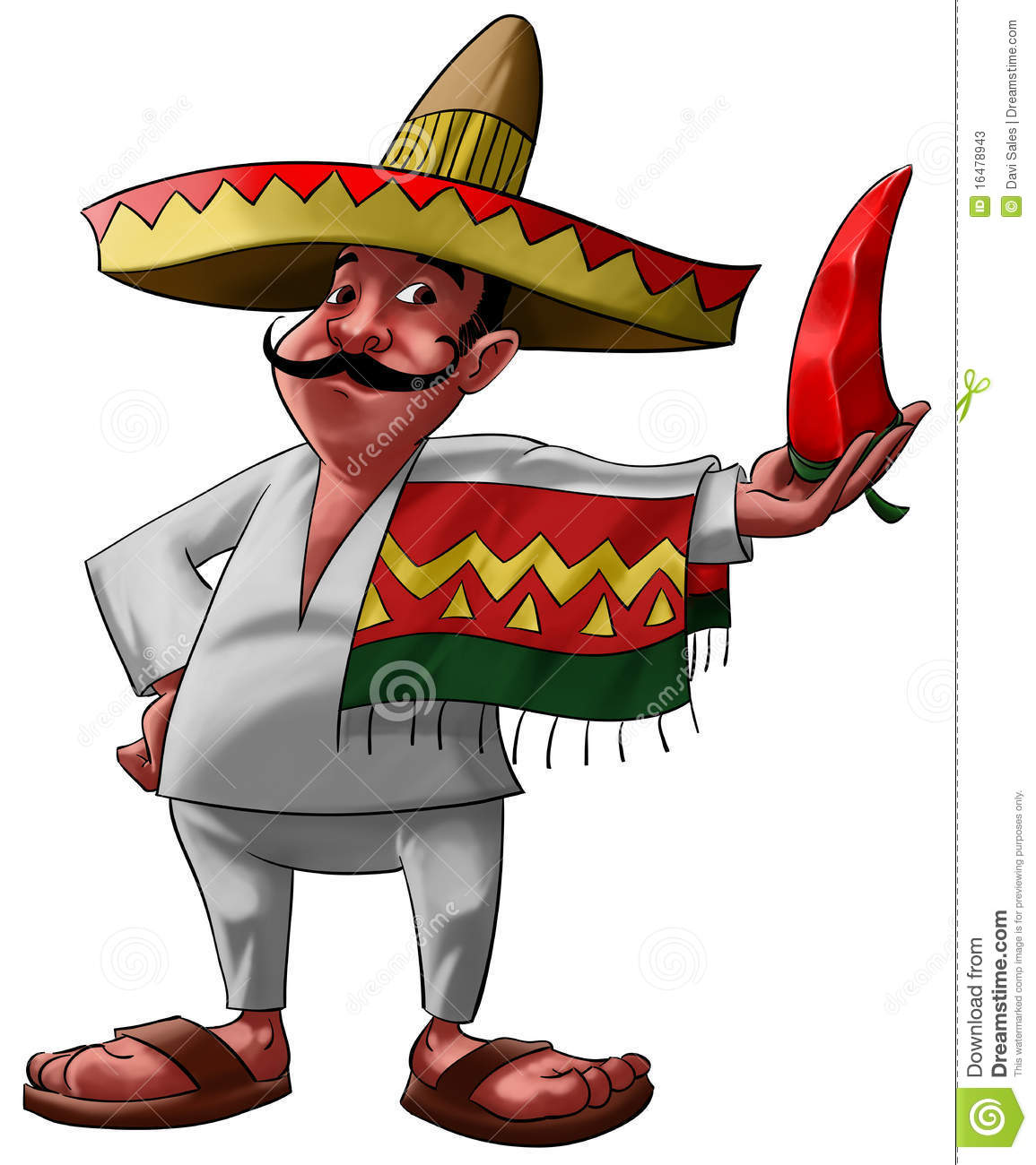 mexican guy with mustache