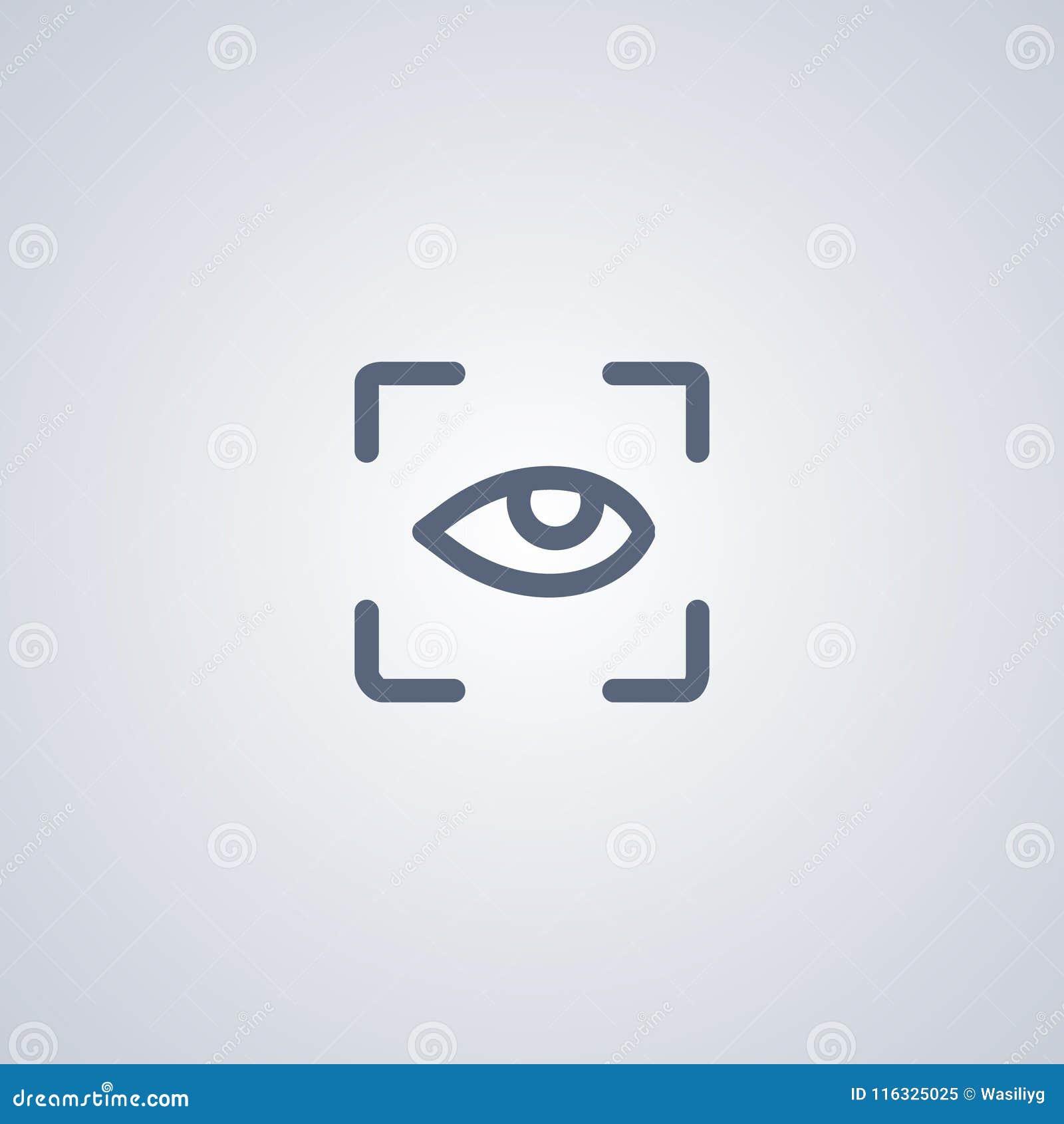 O modo de busca, vector o melhor ícone liso