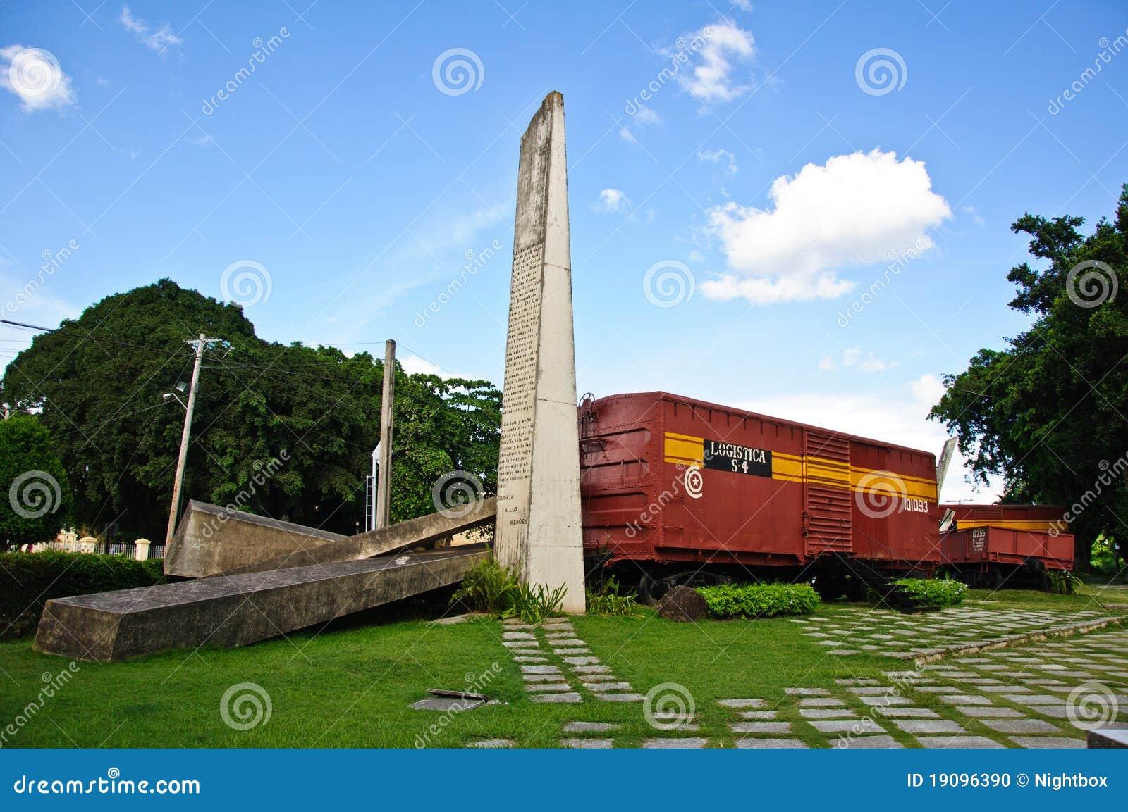 O monumento do trem blindado