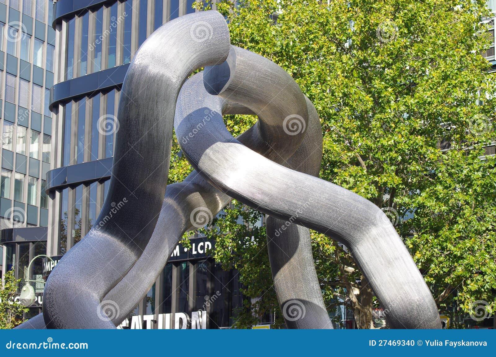 O monumento que comemora a unificação de Berlim
