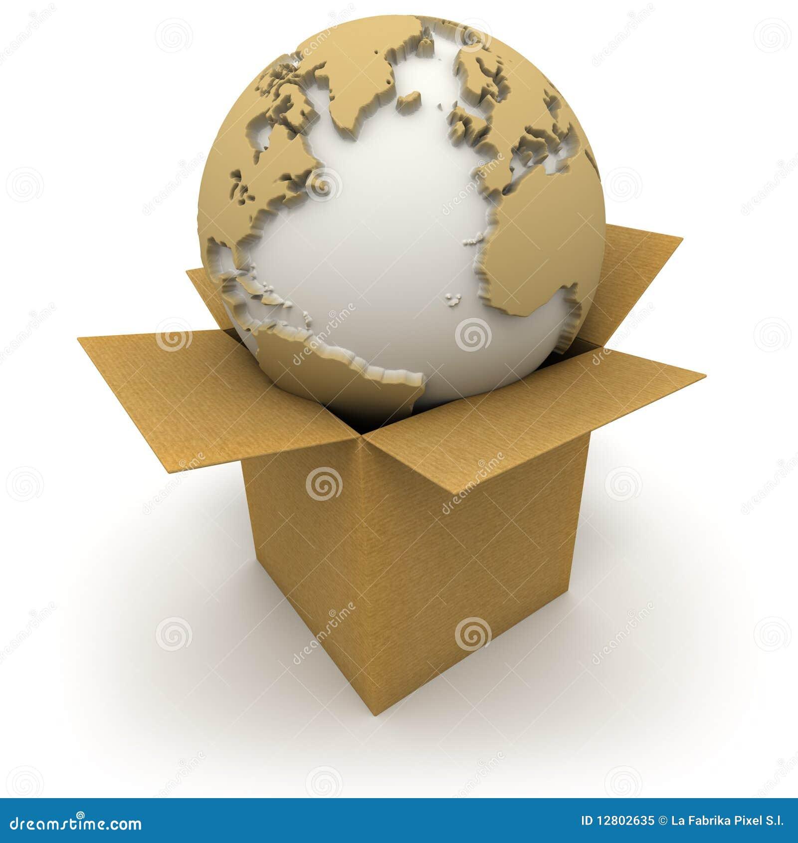 O mundo em uma caixa
