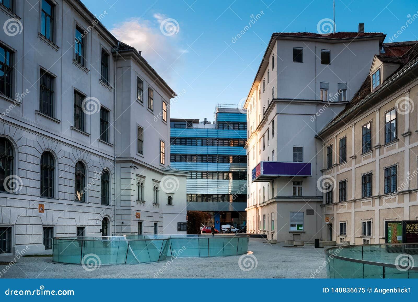 O museu universal de Joanneum em Graz